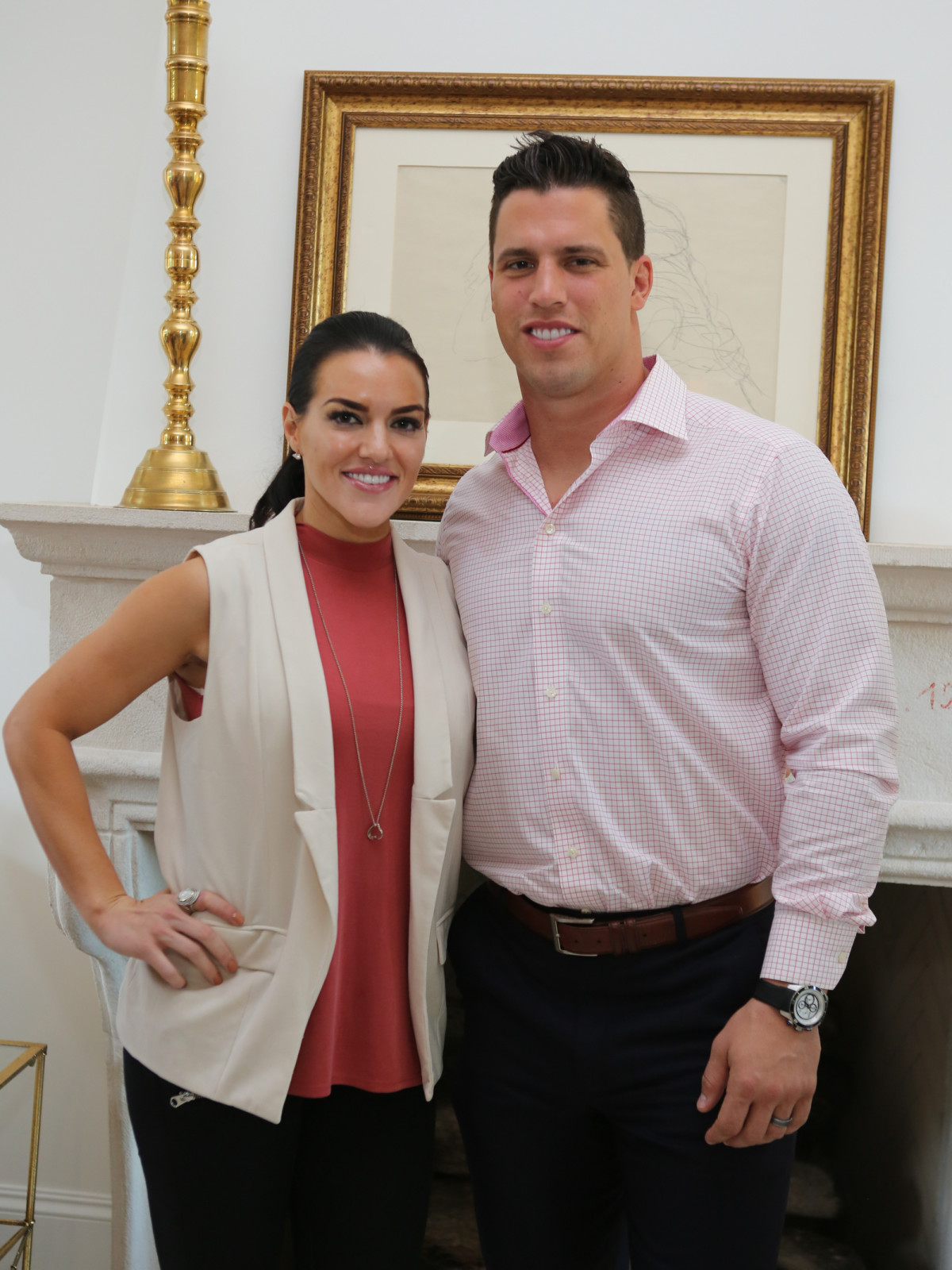 Friday Night Lights kick off Megan and Brian Cushing