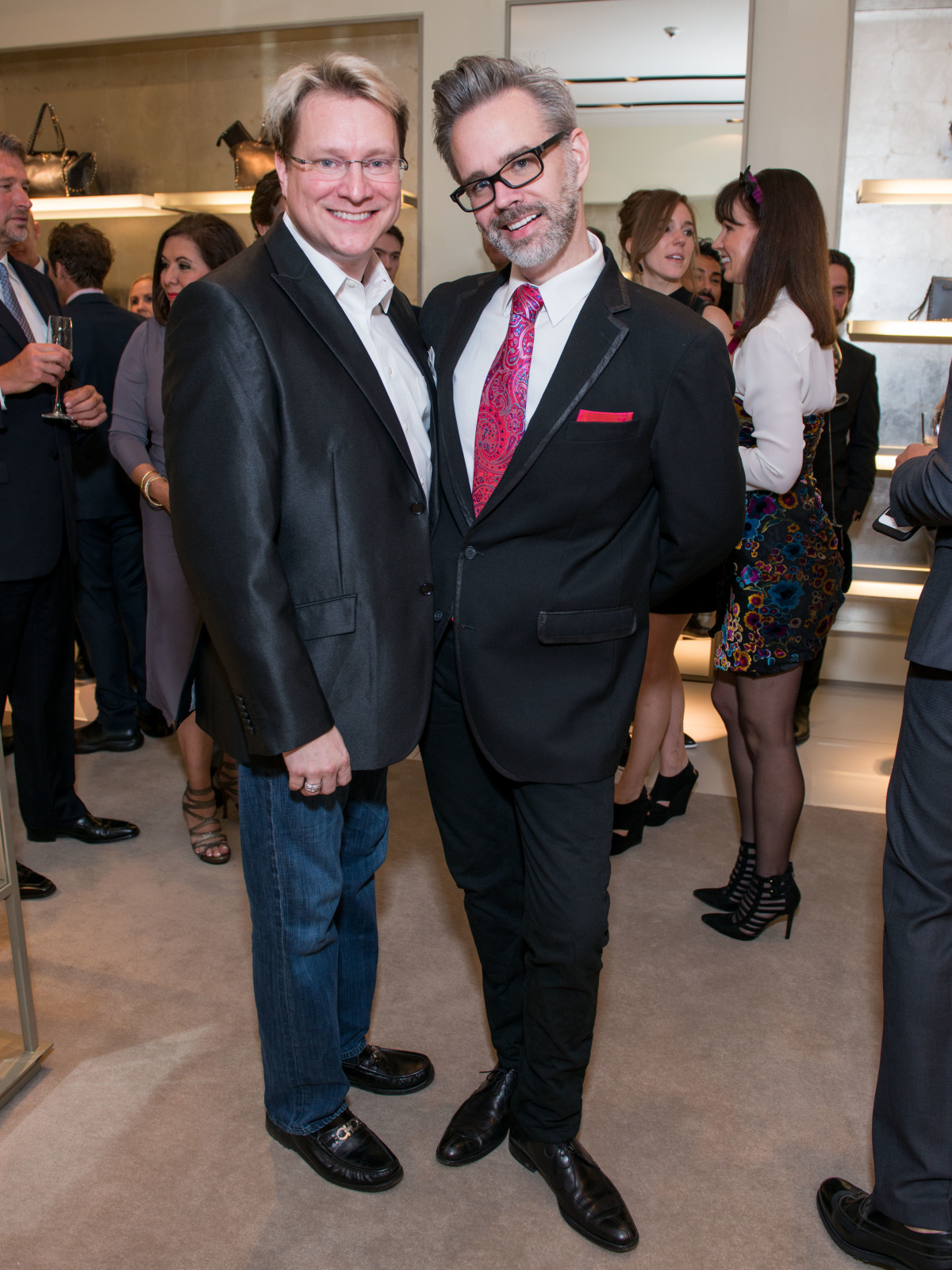 News, Shelby, Heart of Fashion Valentino party, Sept. 2015,Matthew Burrus, Michael Pearce