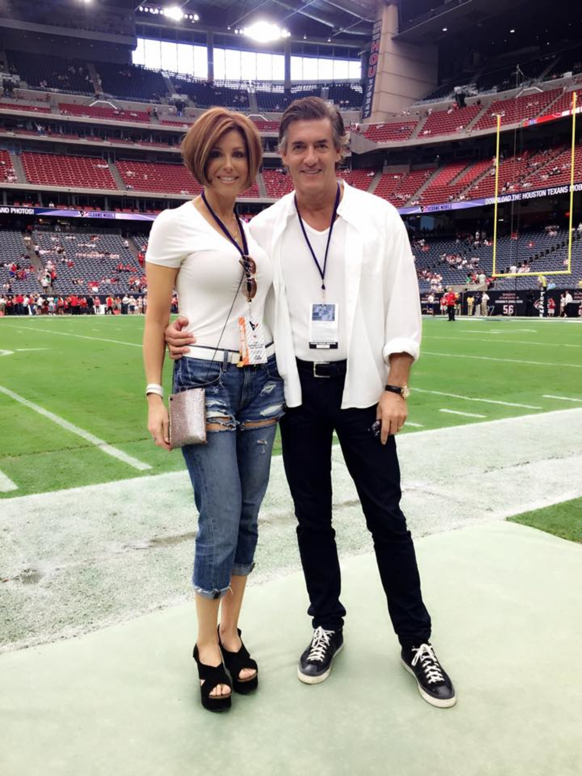 News, Shelby, NRG Stadium, Dominique Sachse, Nick Florescu, Sept. 2015
