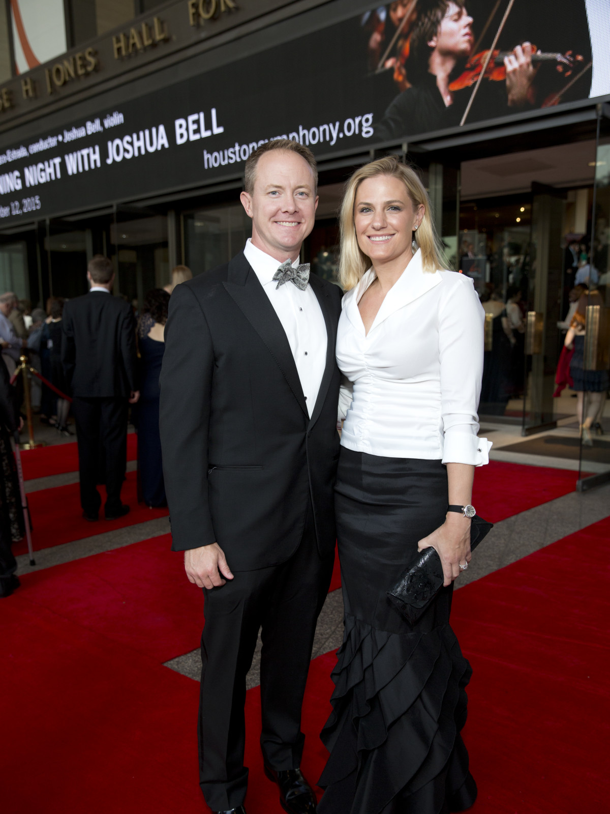 News, Shelby, Houston Symphony Opening Night, Sept. 2015, Billy McCartney, Christie McCartney