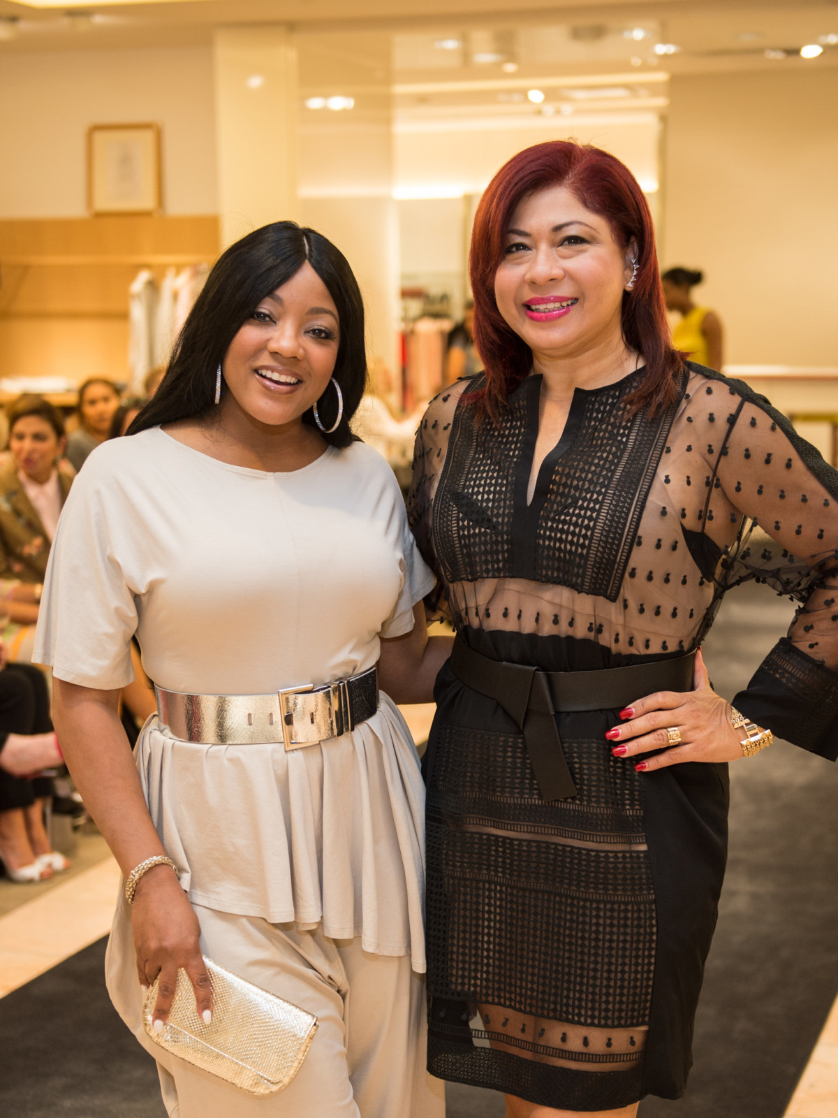 Earlene Buggs and Blanca Sachtouras at Neiman Marcus Trend Event