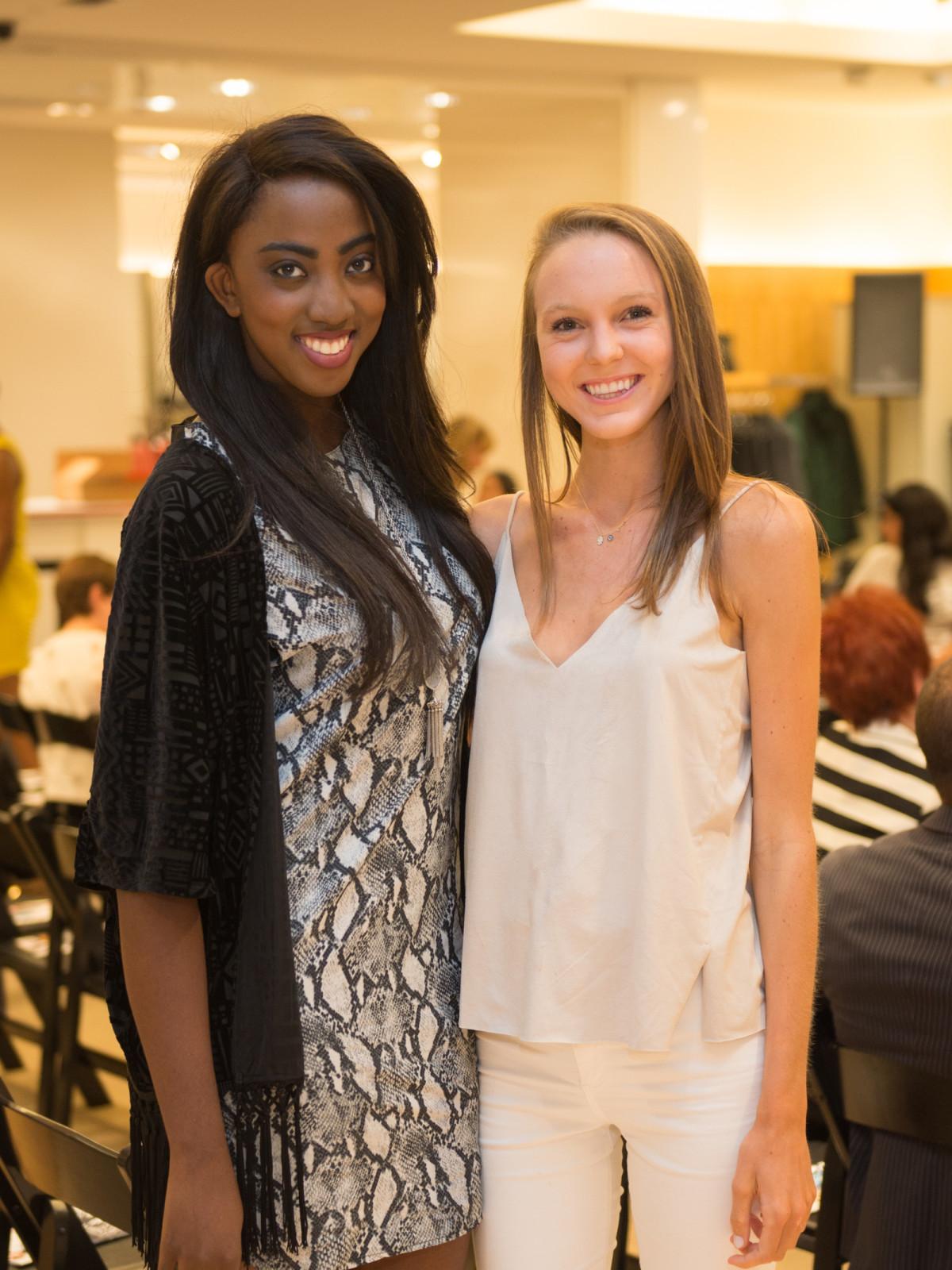 Devon Sells and Alex Odum at Neiman Marcus Trend Event
