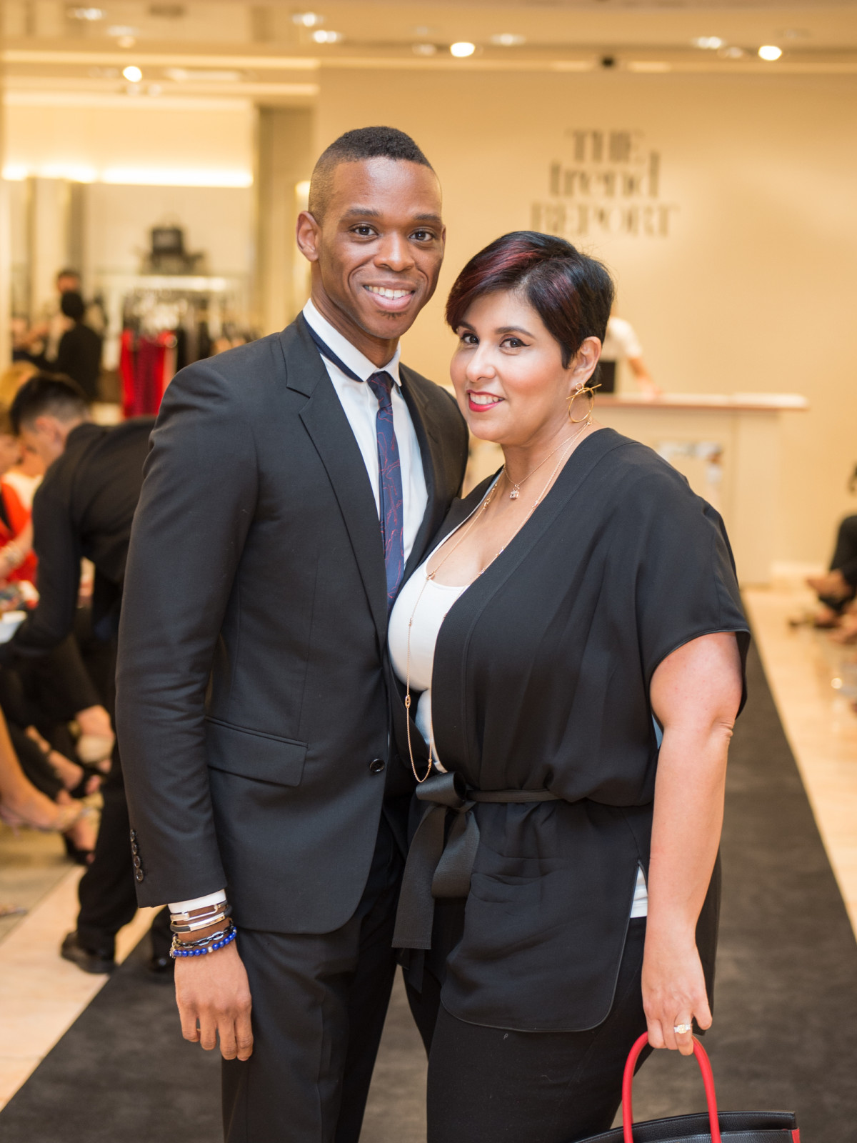 Neiman Marcus Trend Event Christopher Mitchell and Phyllis Rodriguez