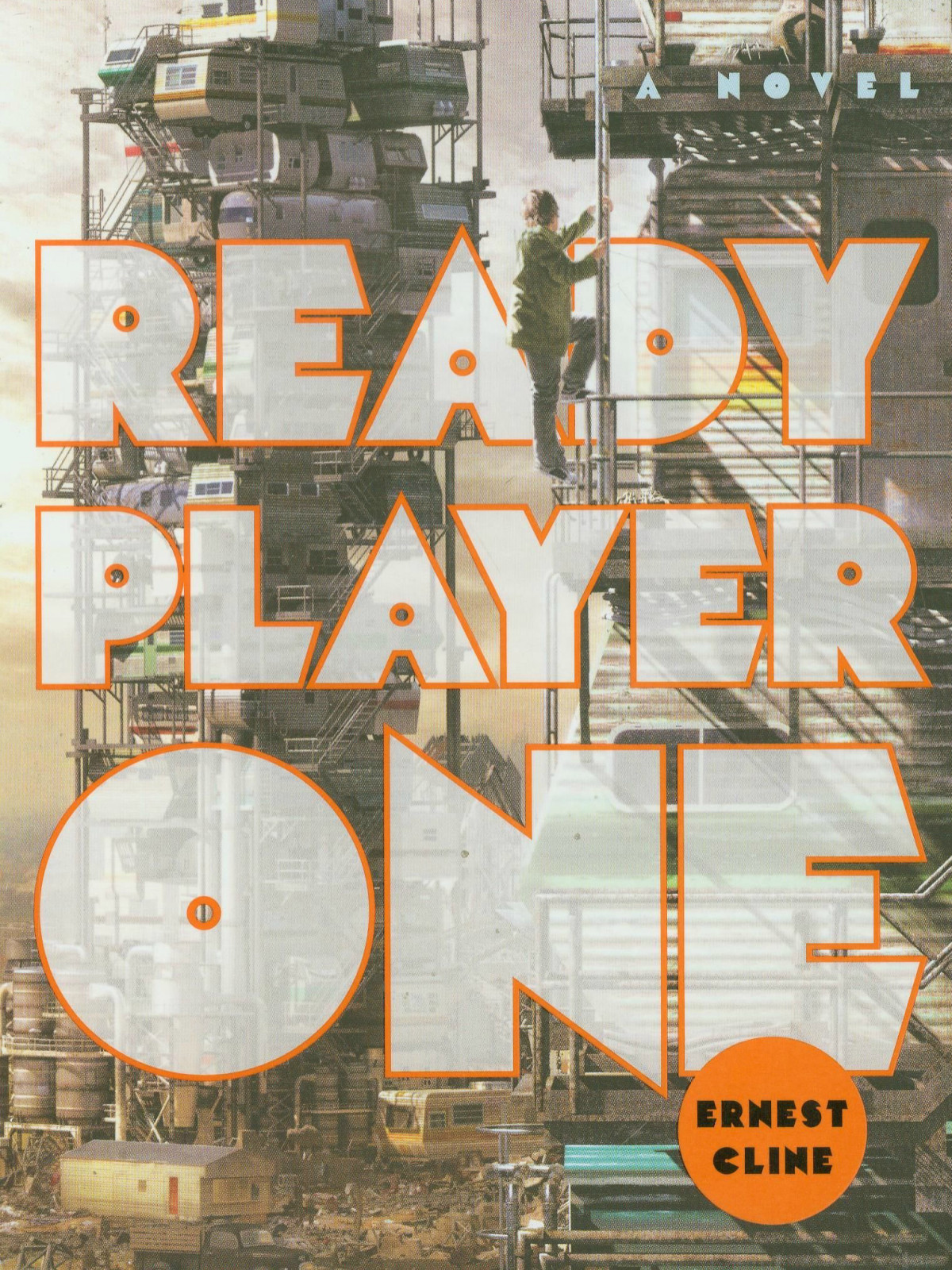 Ready Player One by Ernest Cline book cover cropped novel