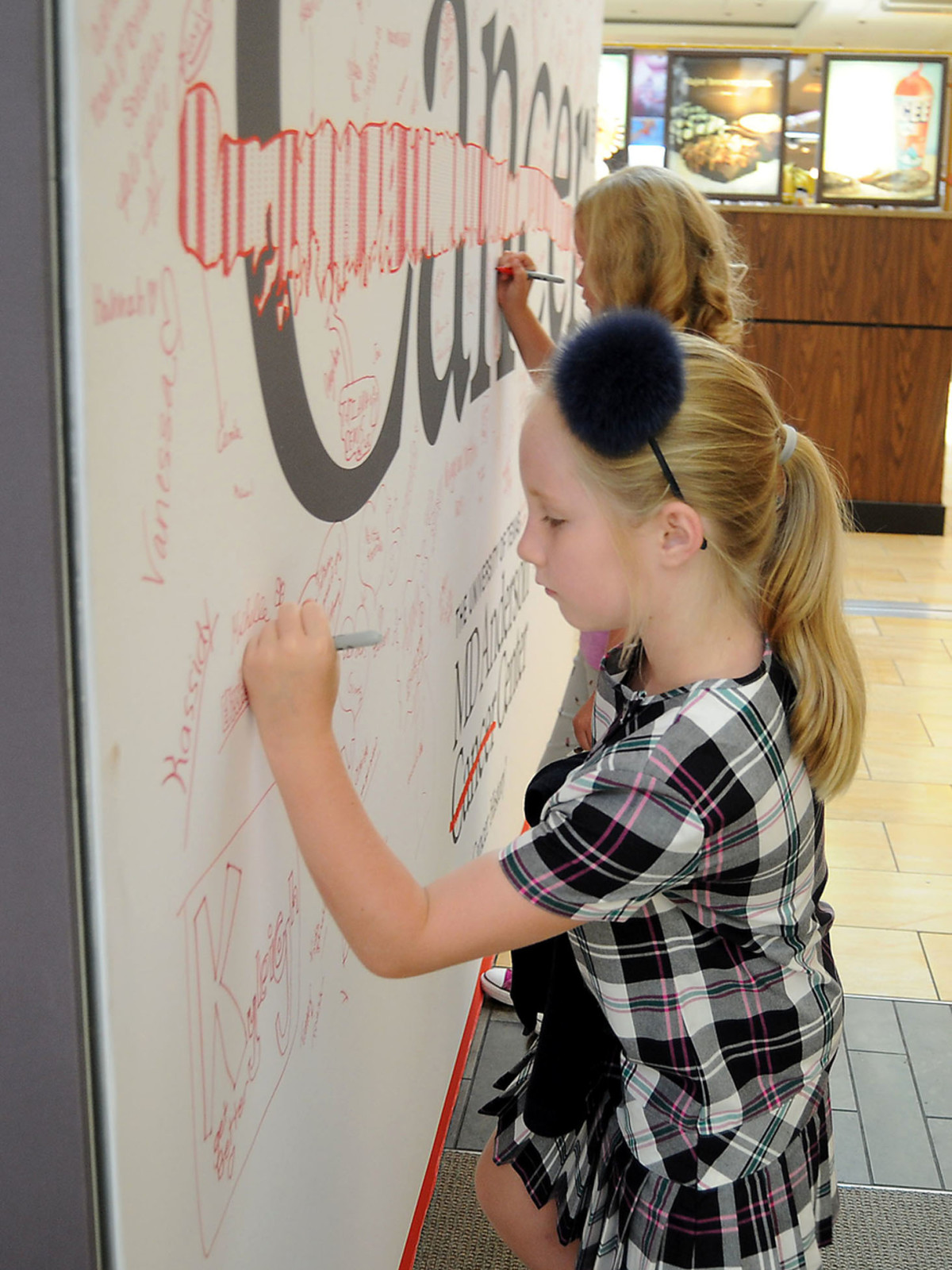 News, Shelby, MD Anderson Back to School, August 2015, Elizabeth Loeffler