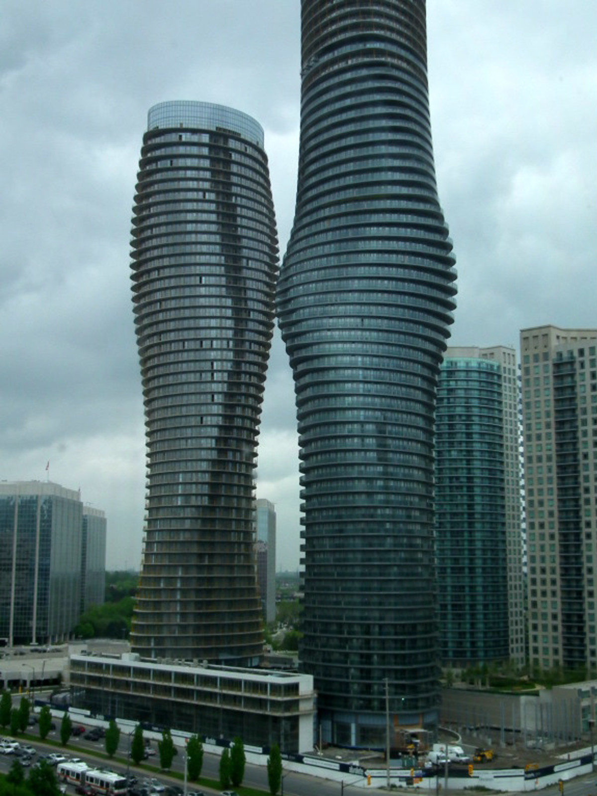 Marilyn Monroe Towers in Canada