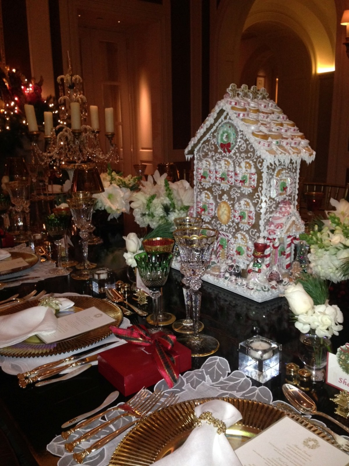 News, Shelby, Christmas Tabletop, July 2015