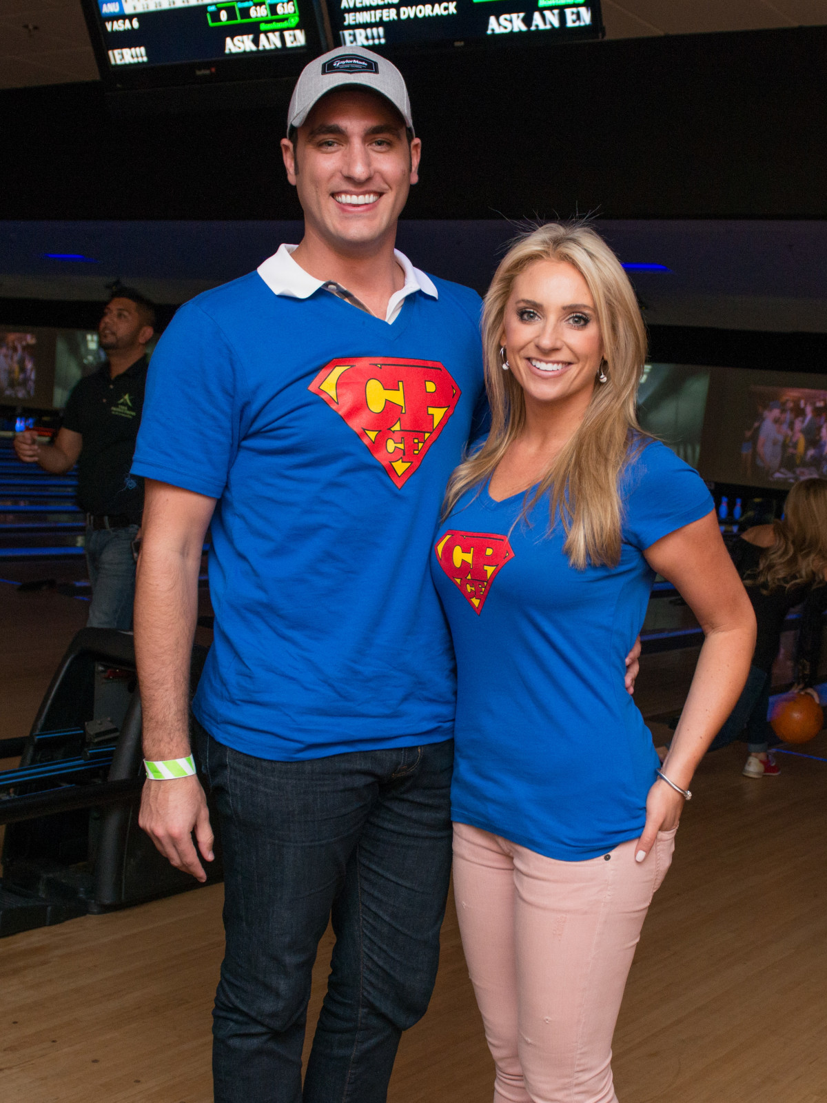 Chester Pitts bowling event Lane Craft, Chita Johnson