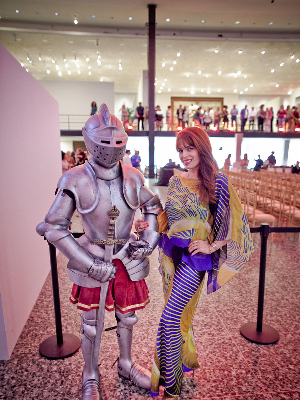 Houston, Fashion Fusion, June 2015, Max The Knight and Karina Barbieri