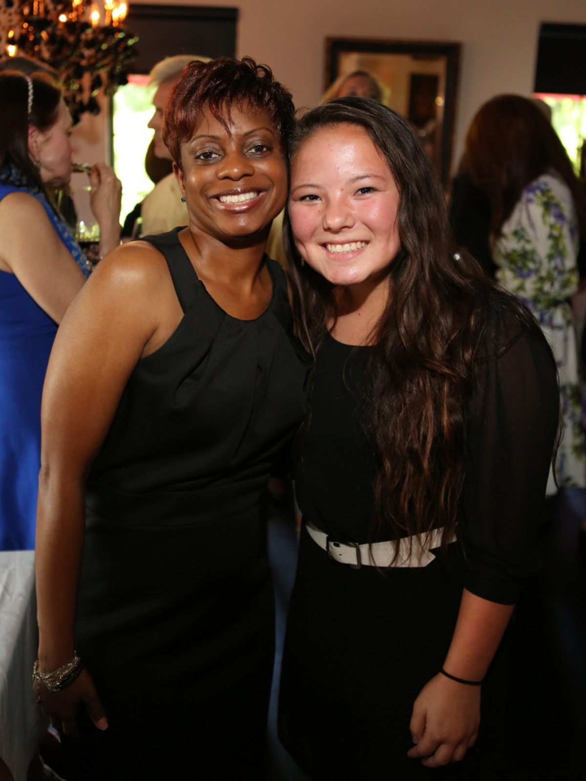 March of Dimes Cookoff 2015 Yolanda Guillory, Alina Erb