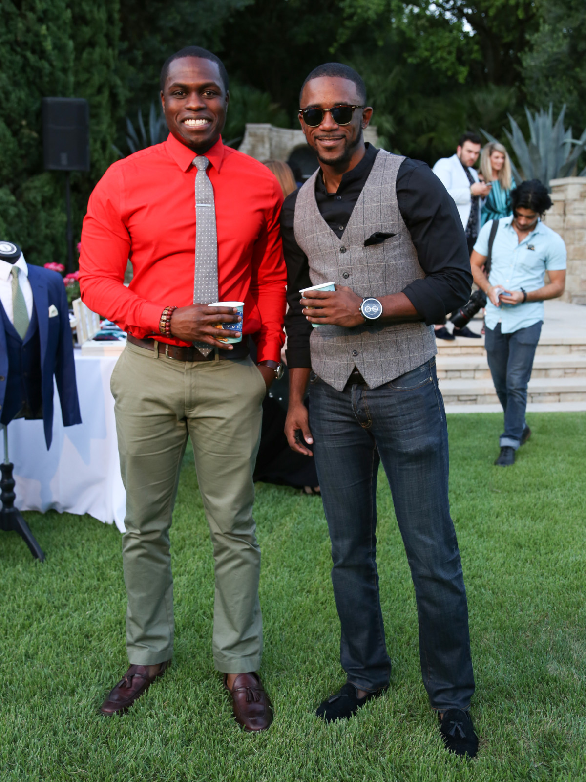 Fashion X Austin Men's Event 2015 Oyekunle Sijuwade Phillip Butler
