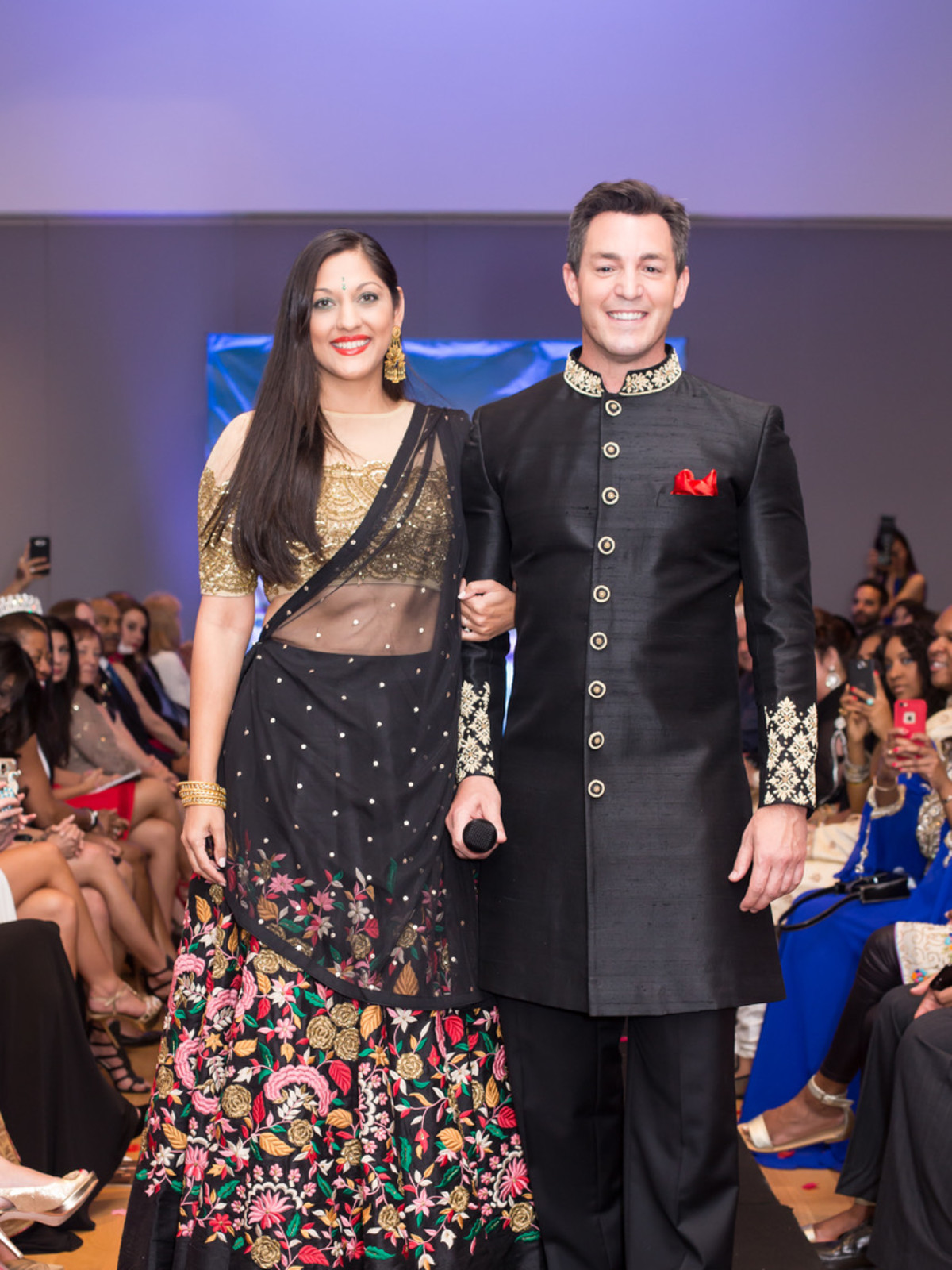Sippi Khurana, Andy Cerota at International Mothers Day Soiree