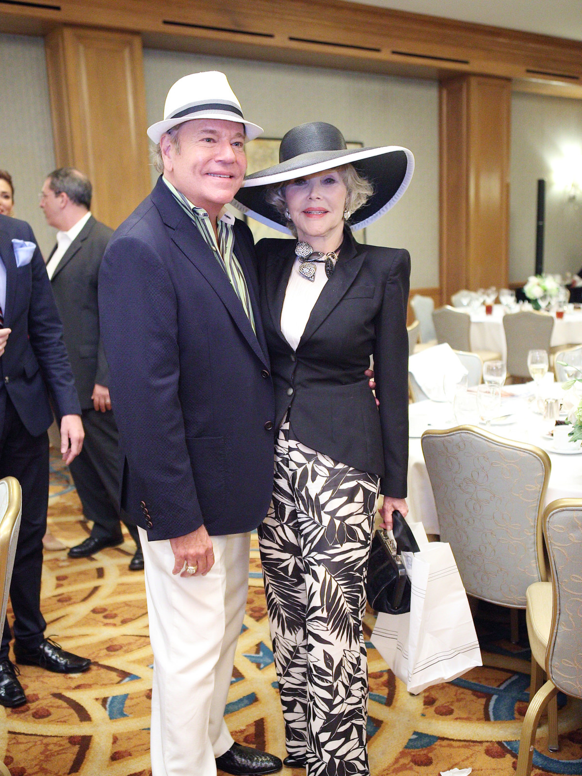 Bubba McNeely, Joanne King Herring at Great Age Movement fundraiser
