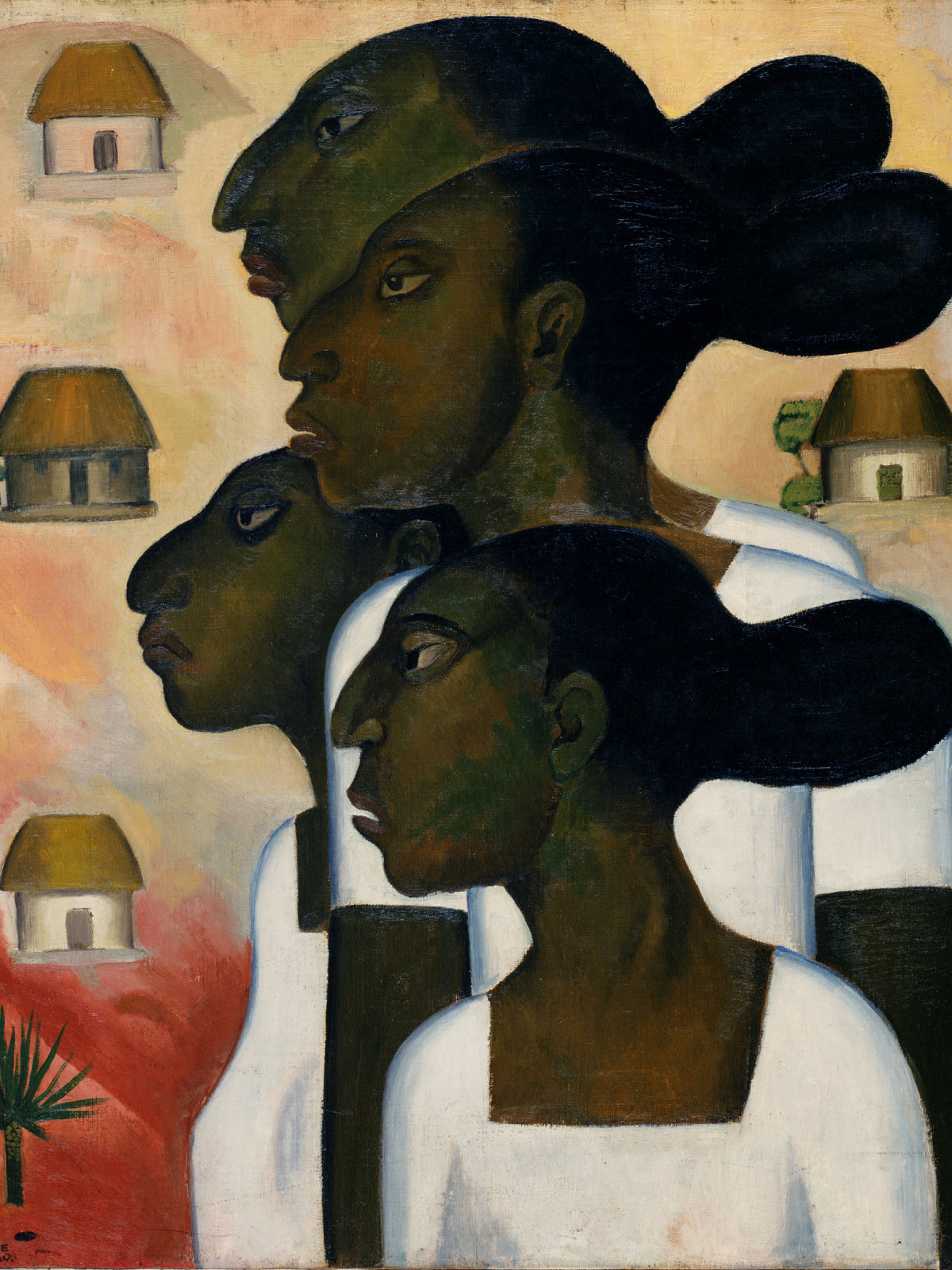 Paint the Revolution: Mexican Modernism, 1910–1950: Roberto Montenegro, Maya Women, 1926