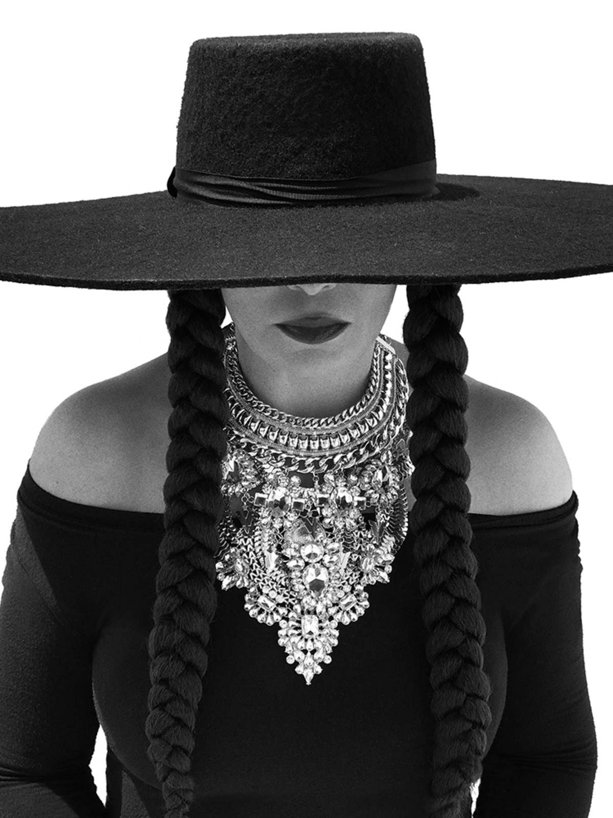 Tina Lawson as Beyonce for Hurricane Relief funds
