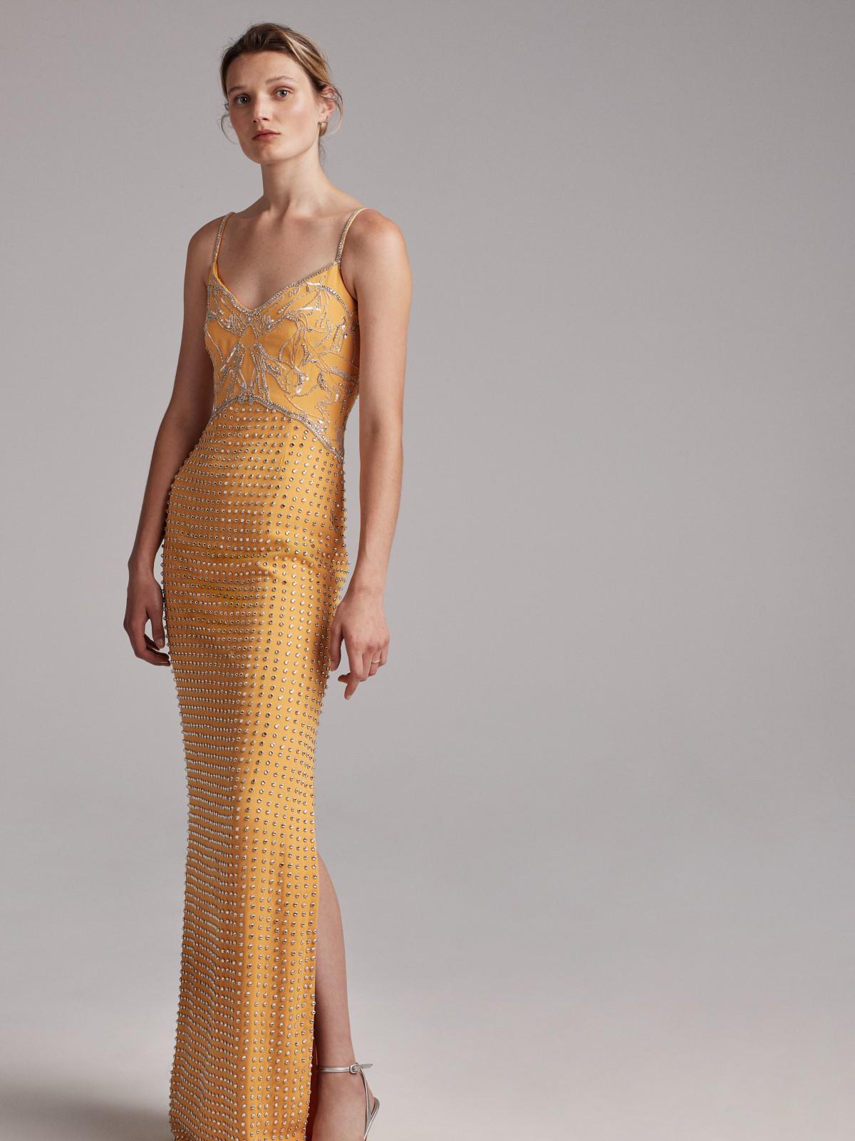 Elizabeth Kennedy spring 2018 gown look 20