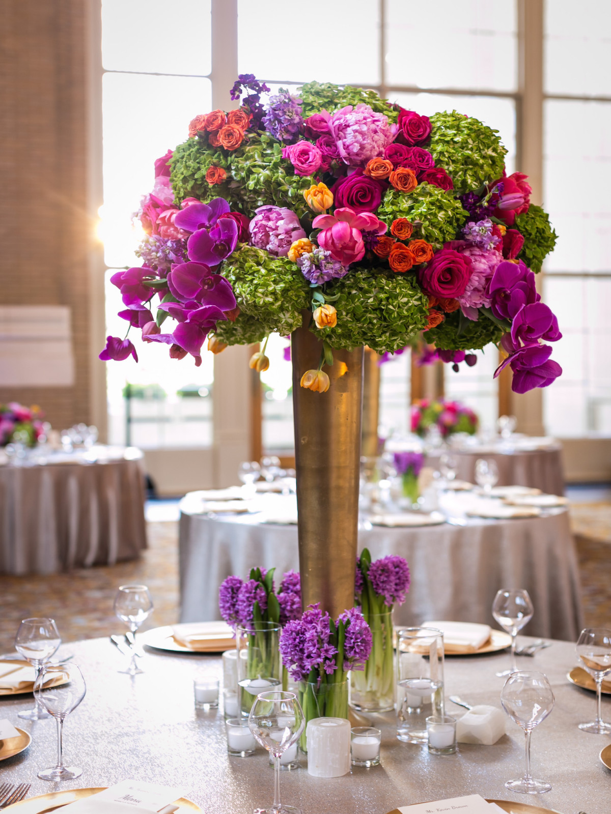 Monica Kitt Wedding, arrangement