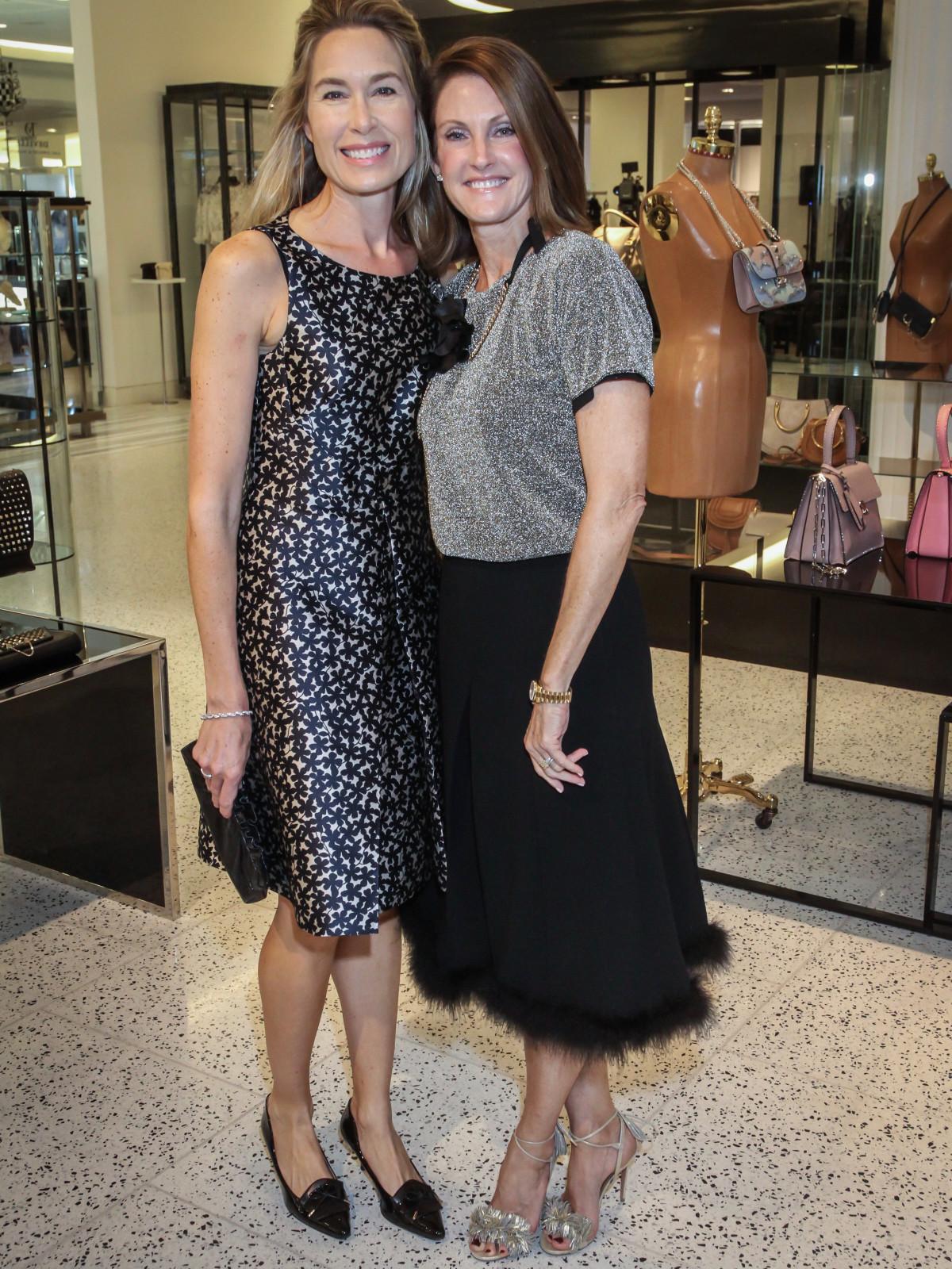 Lisa Francisco and Stephanie Tsuru at Women of Distinction announcment party