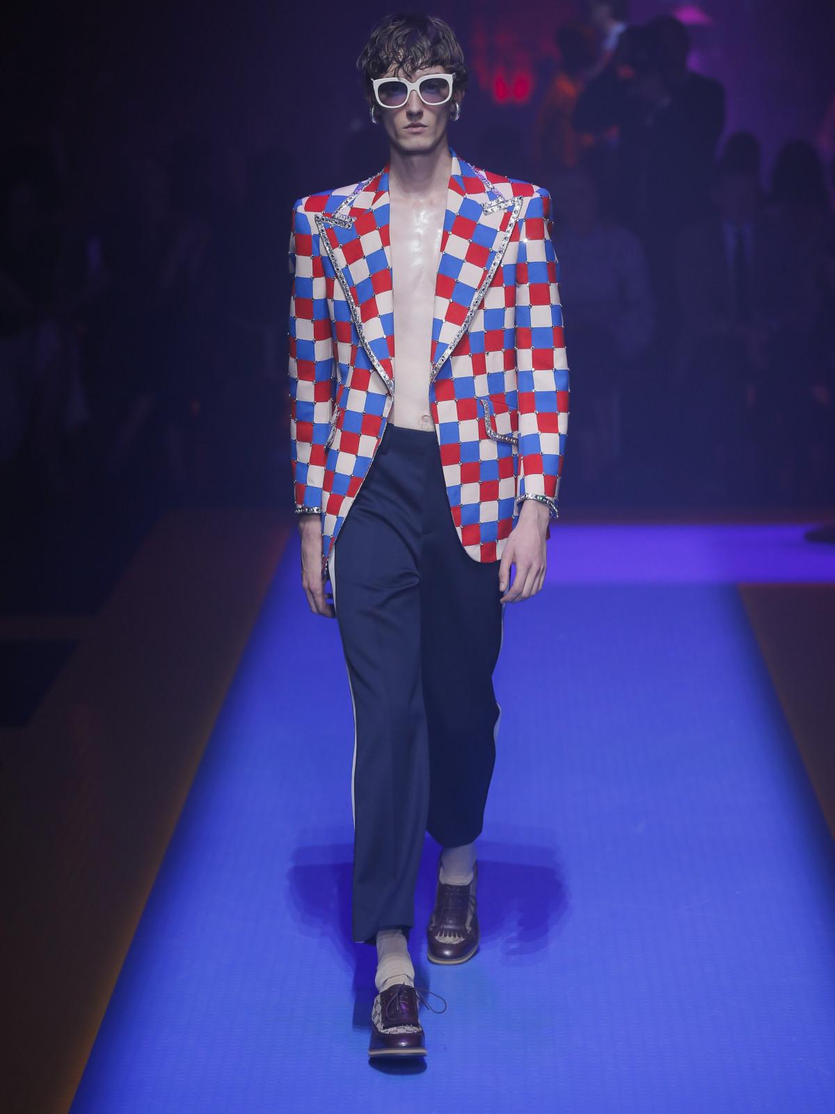 Gucci menswear spring 2018 look 34