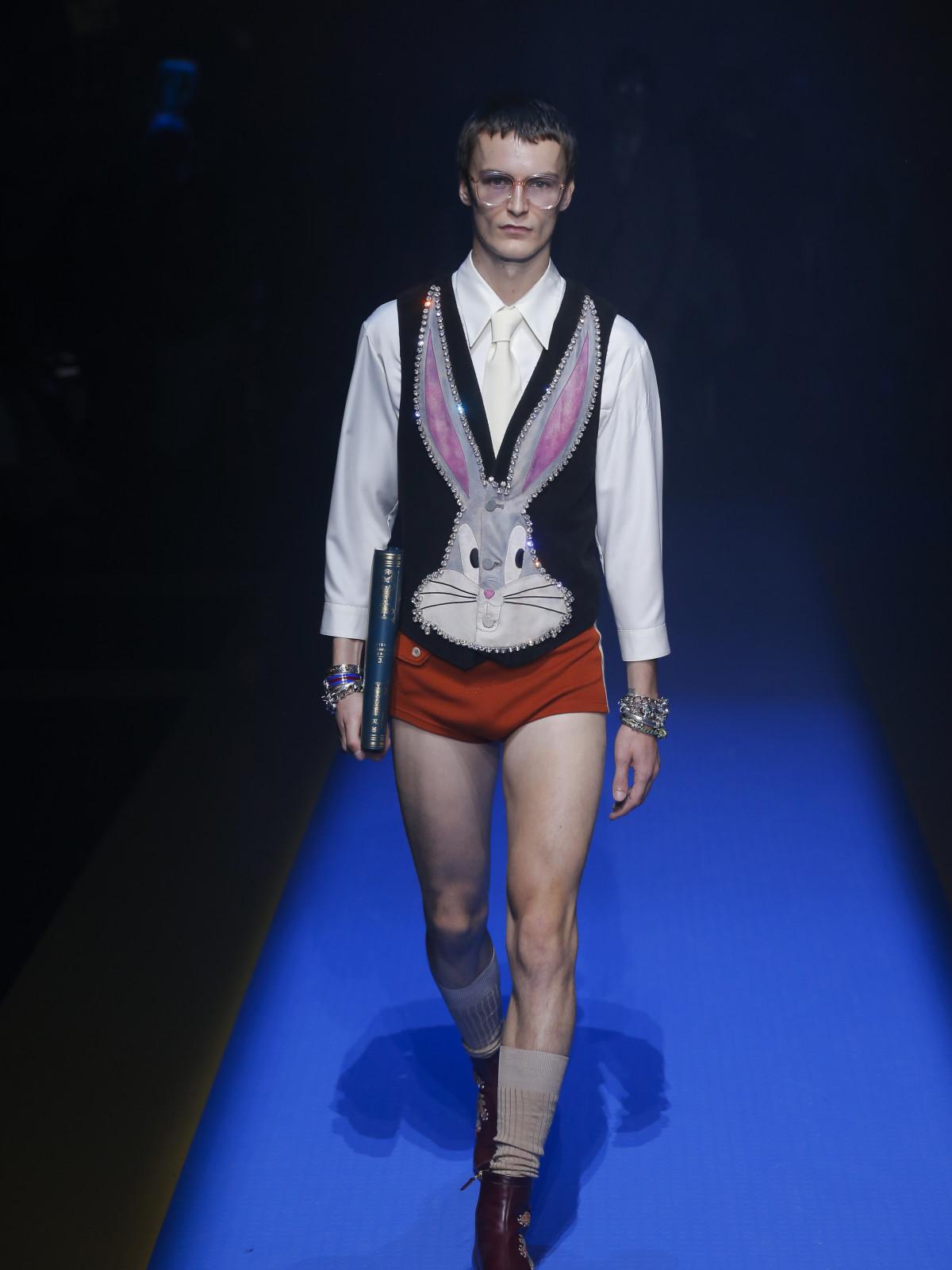 Gucci menswear spring 2018 look 50