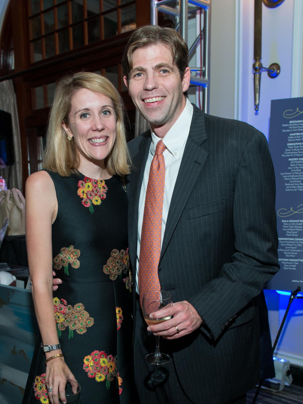Carter and John Dugan at AVDA Gala
