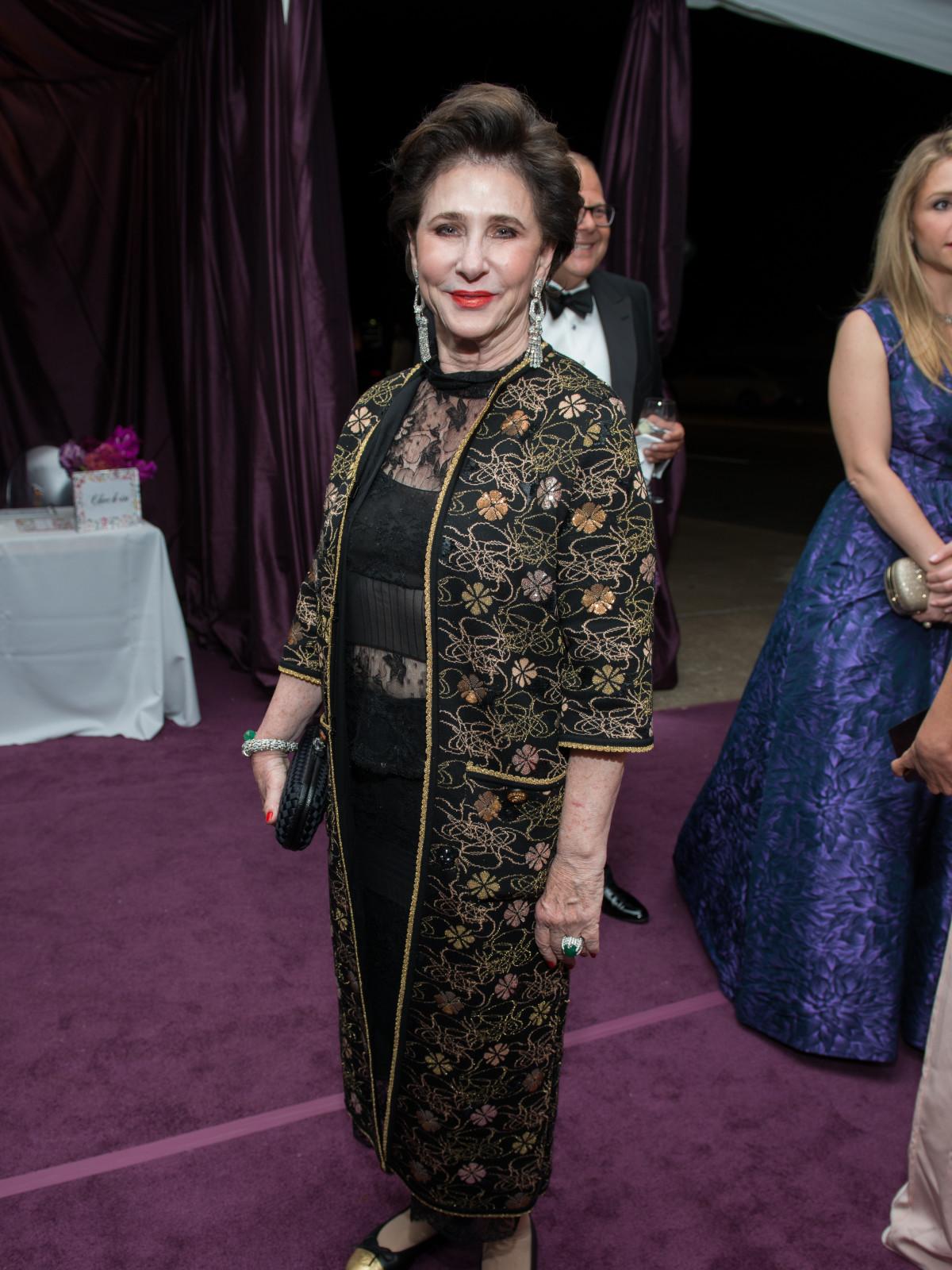 Elyse Lanier at MFAH Grand Gala Ball