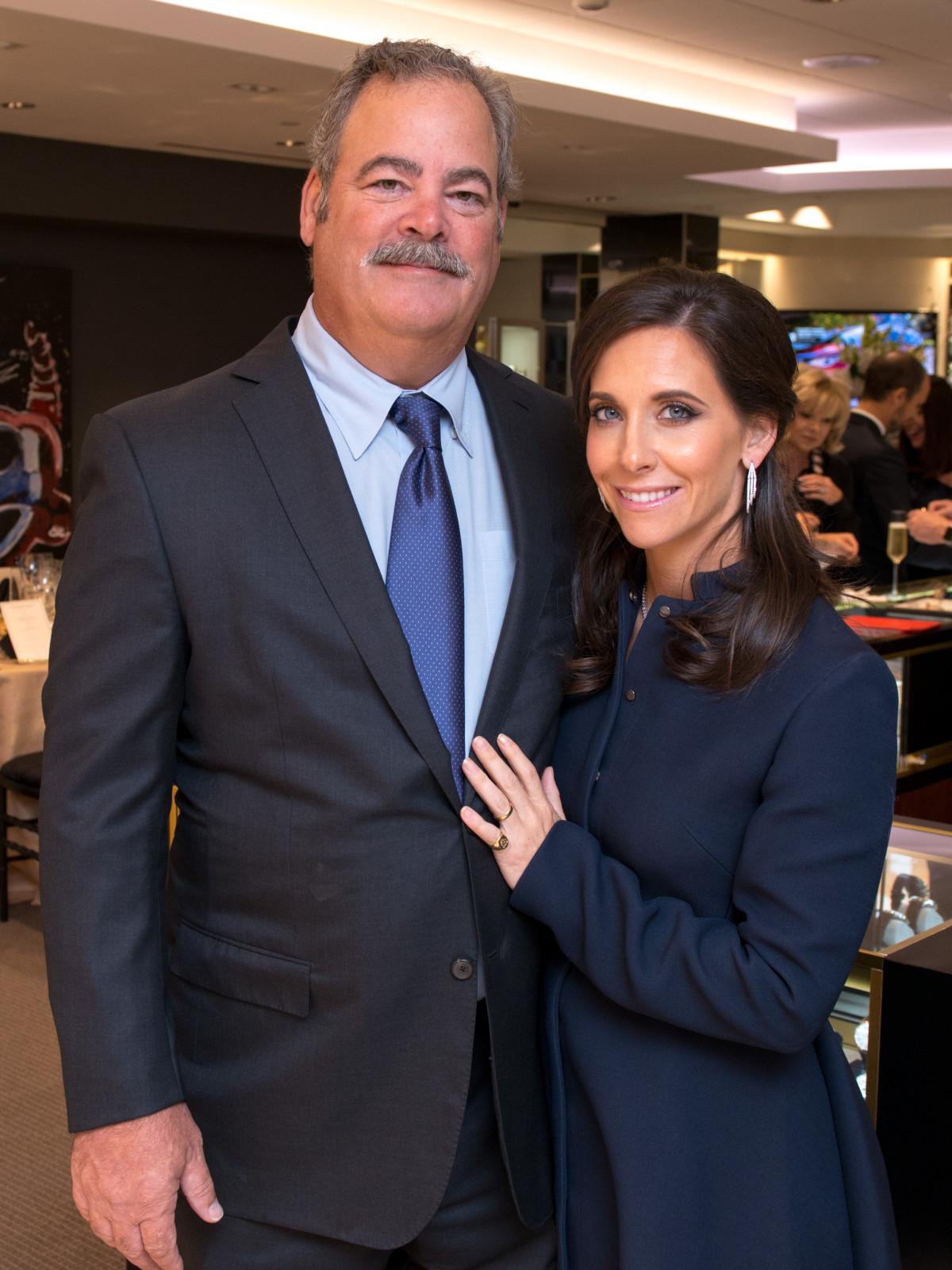 Cal and Hannah McNair at IW Marks Jewelers