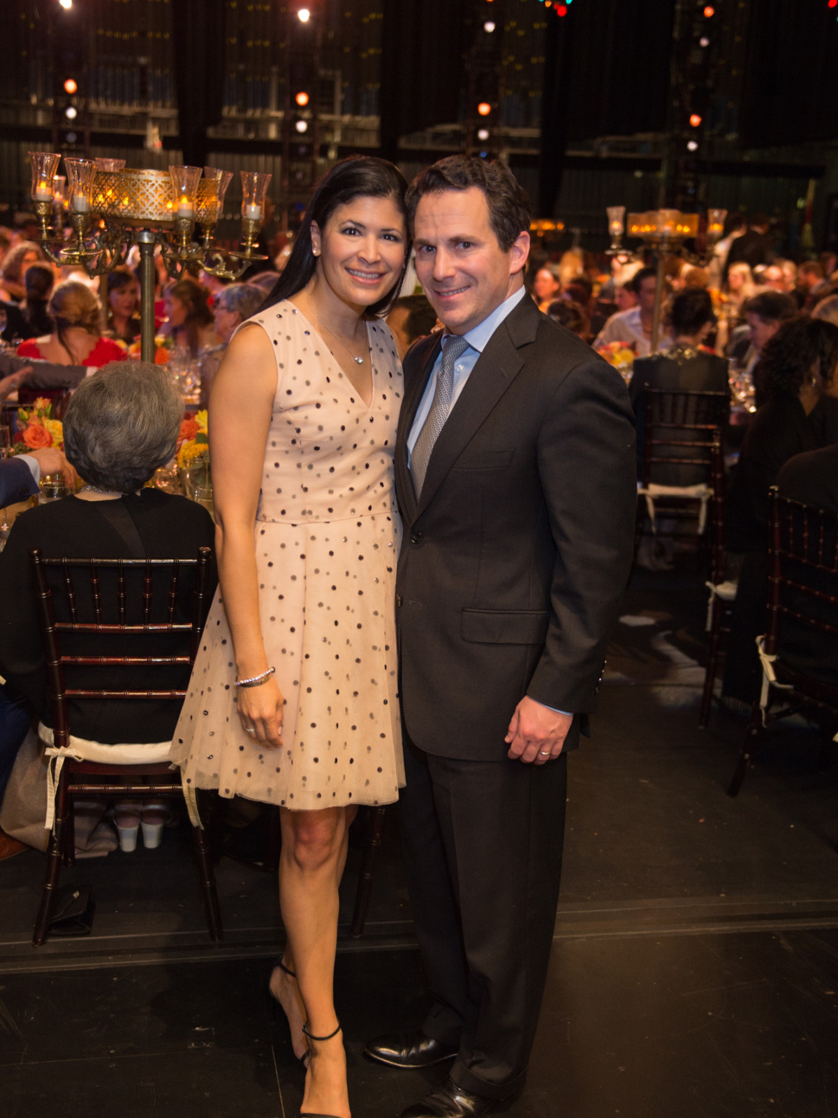 Kristy and Chris Bradshaw at Houston Ballet Opening NIght Dinner