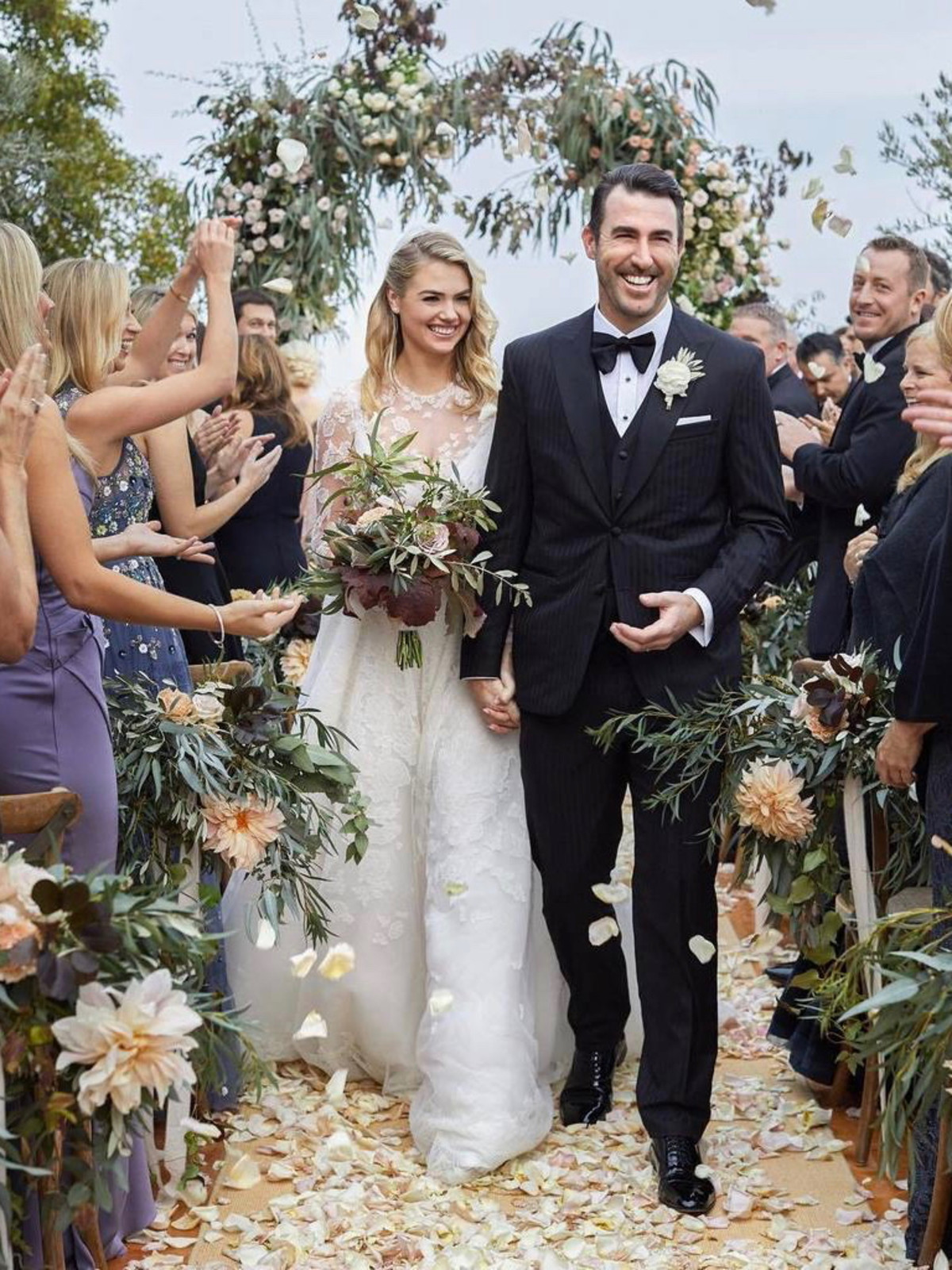 Kate Upton Justin Verlander wedding photo