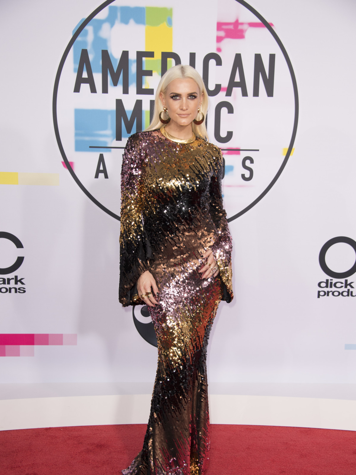 American Music Awards Ashlee Simpson