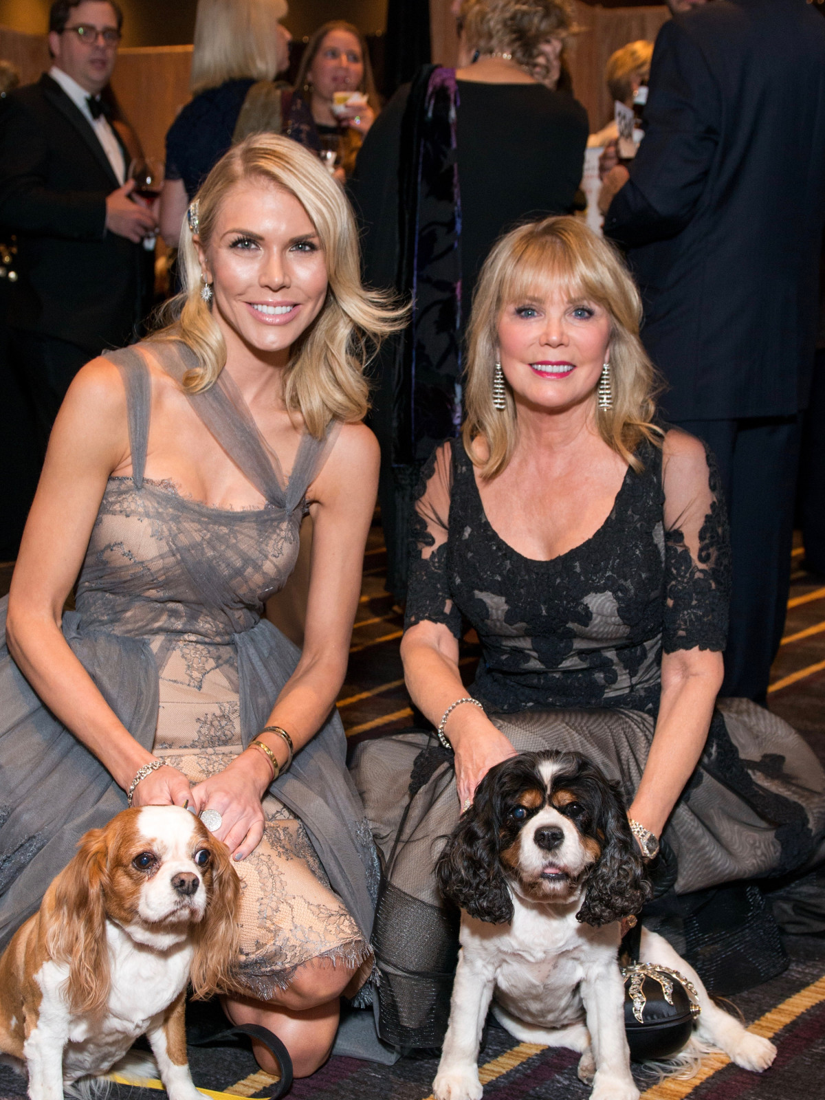 Lindsey Love and Brenda Love with Lilly and Lulu/CAP Gala
