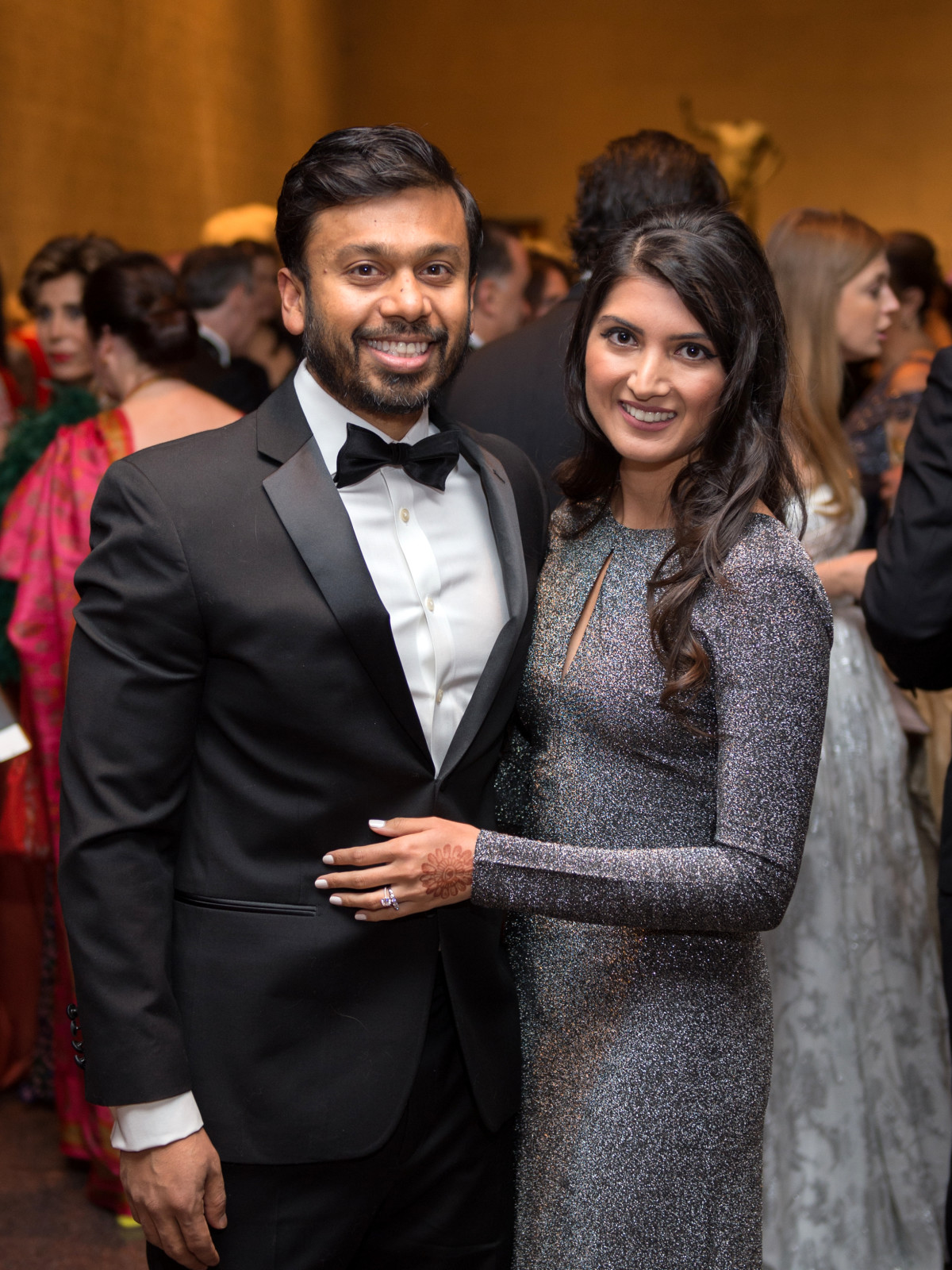 Houston, MFAH Art of the Islamic Worlds Gala, November 2017, Osama Ahmed, Sophia Ahmed