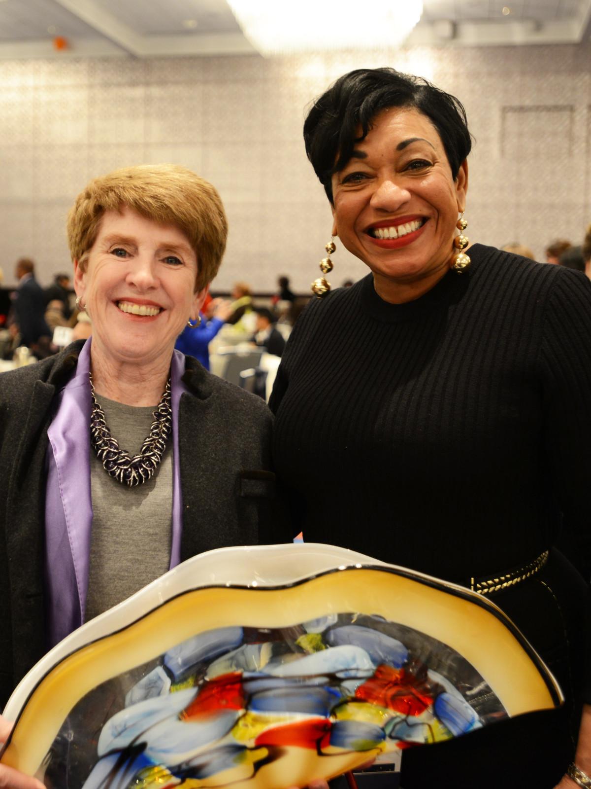 DBDT 2018 founders luncheon, Lucy Billingsley, Zanetta Drew