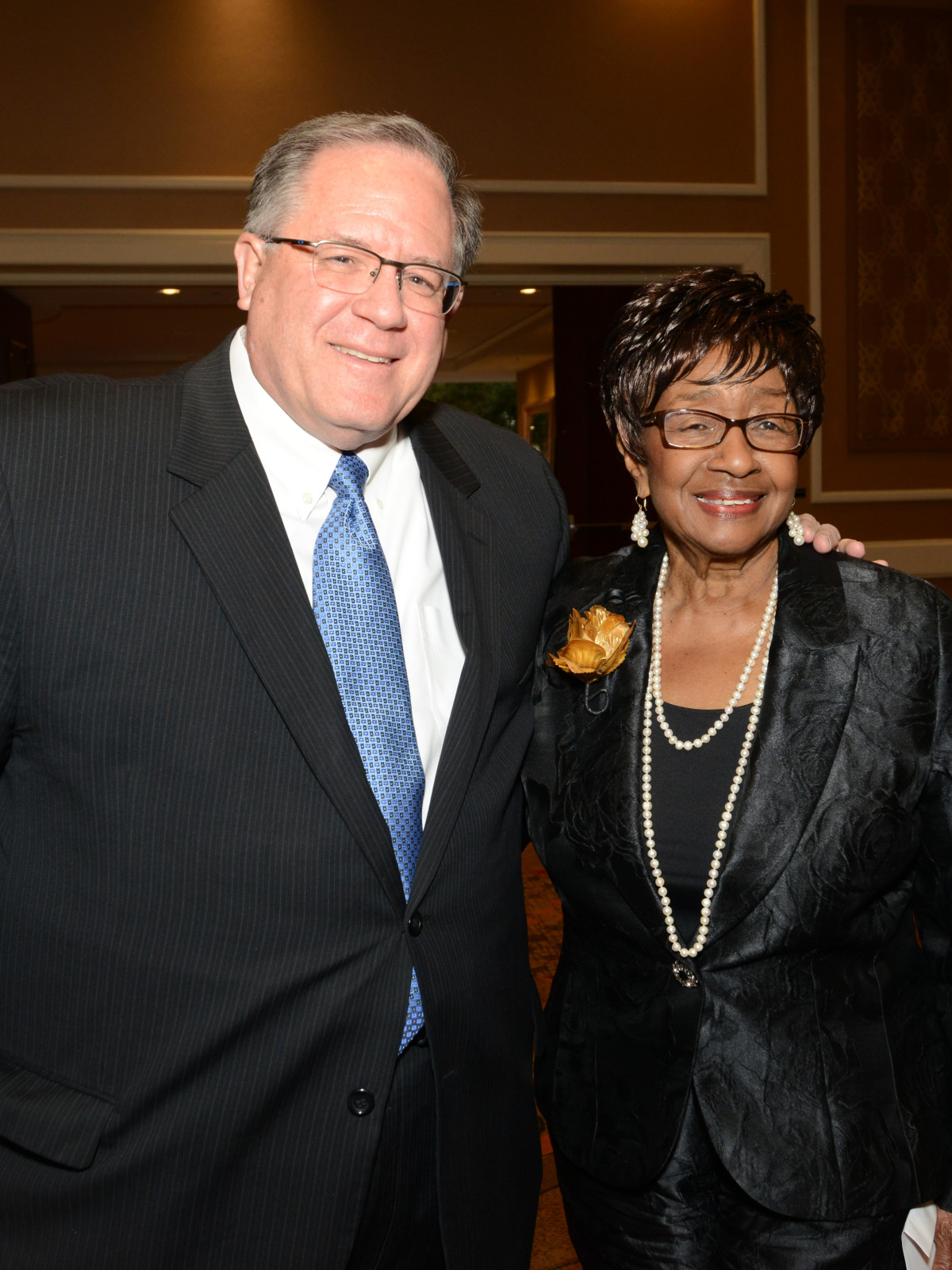 DBDT 2018 founders luncheon, Doug Curtis, Ann Williams
