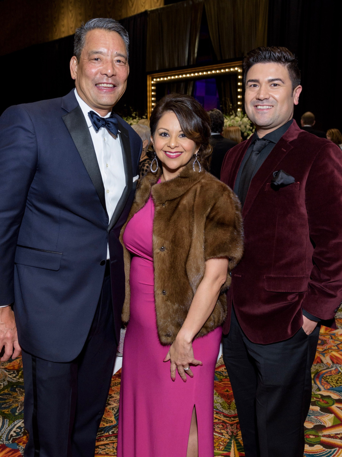 Frank Tsuru, Grace Florez, Erik Borrego Winter Ball