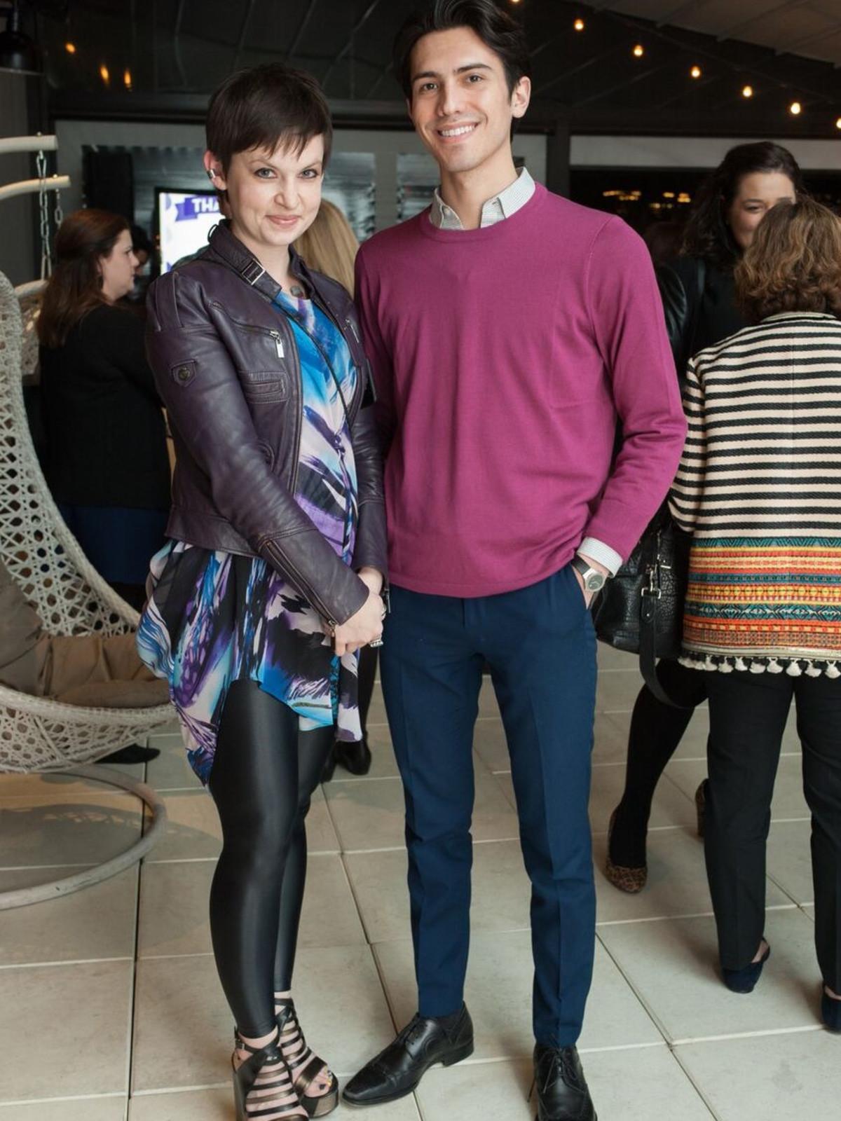 Erin Kharitonov, Javier Barr, Partners Card 2018
