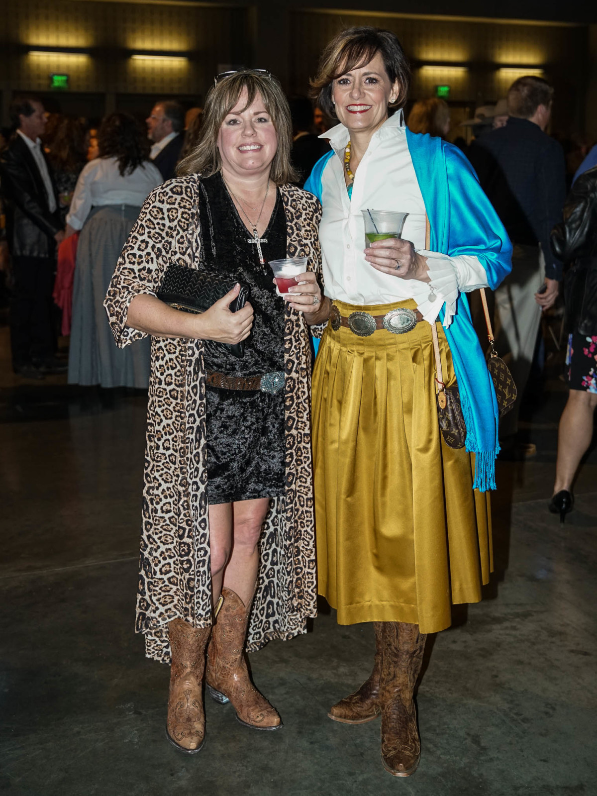 Austin Rodeo Gala 2018 Fashion Millie Hamann Michelle Hutcheson