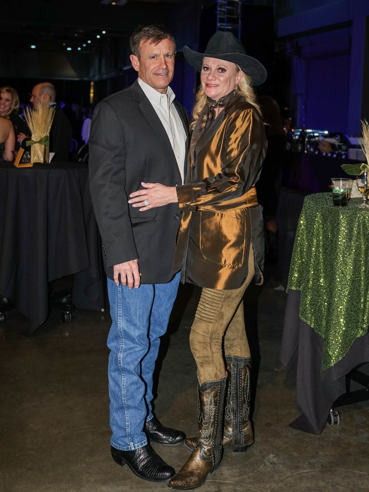 Austin Rodeo Gala 2018 Fashion Steve Stiles Kelly Stiles