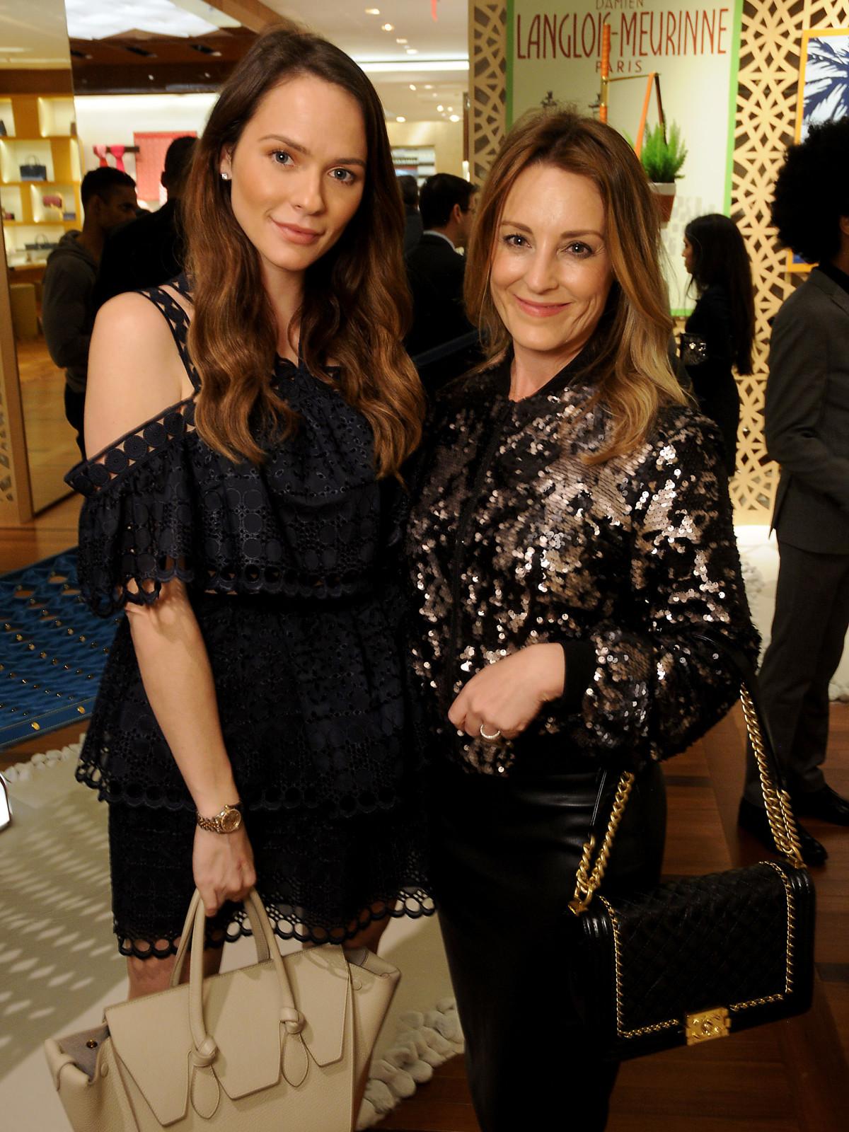 Hannah Swiggard and Melanie Wallace