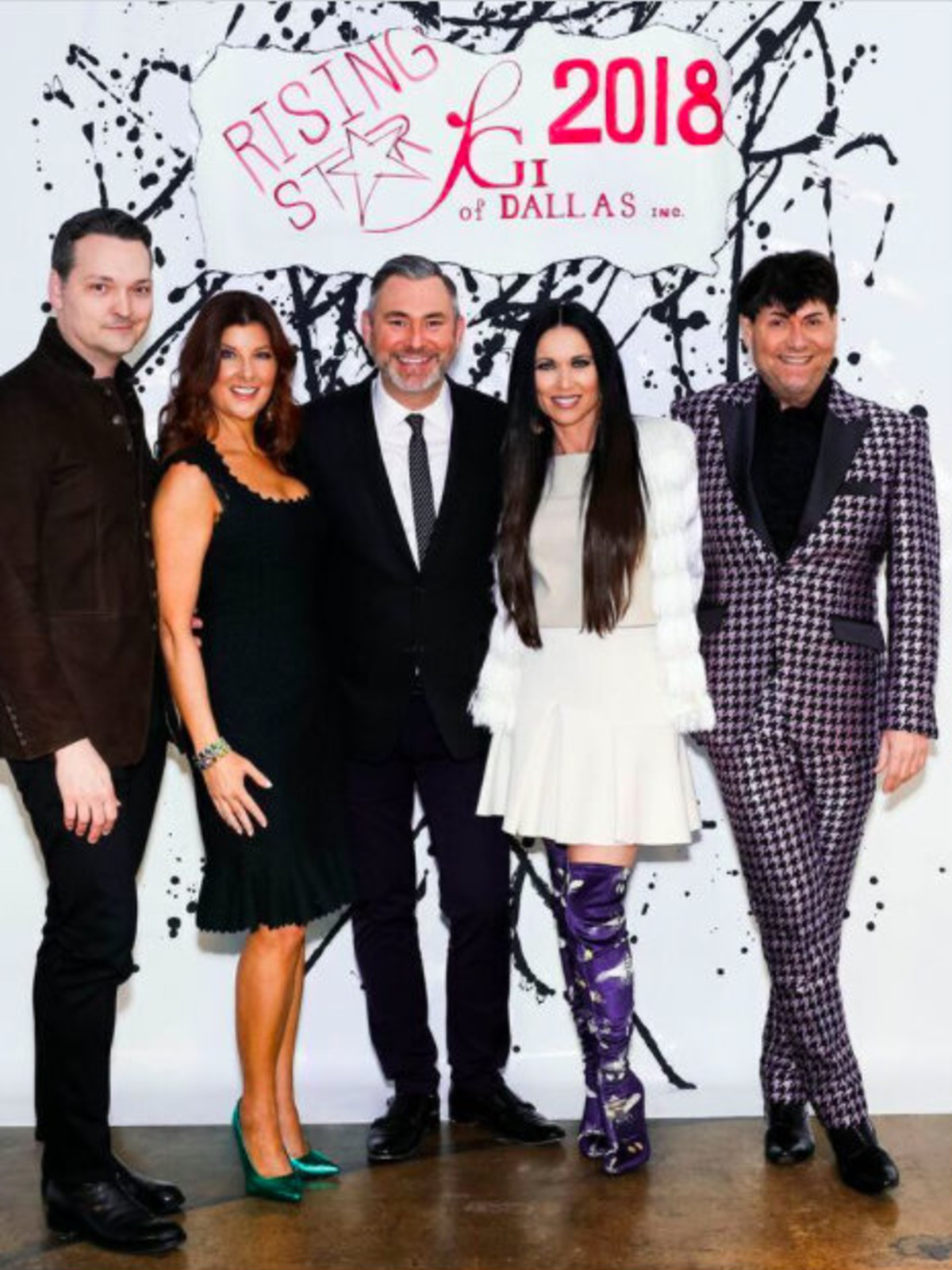 Cynthia Smoot, Chad Collum, Cynthia Smoot, Ken Weber, LeeAnne Locken, Steve Kemble, Dallas_FGI Rising Star