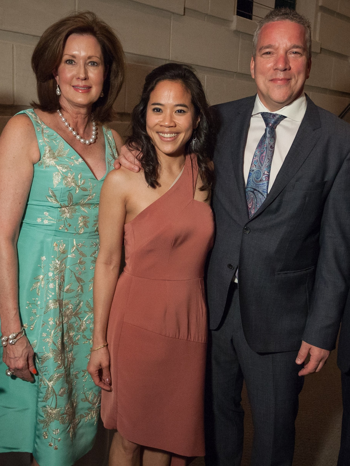 Dana Porter, Sandra Doan and Jacques Marquis, Cliburn President and CEO, TBT Gala 2018