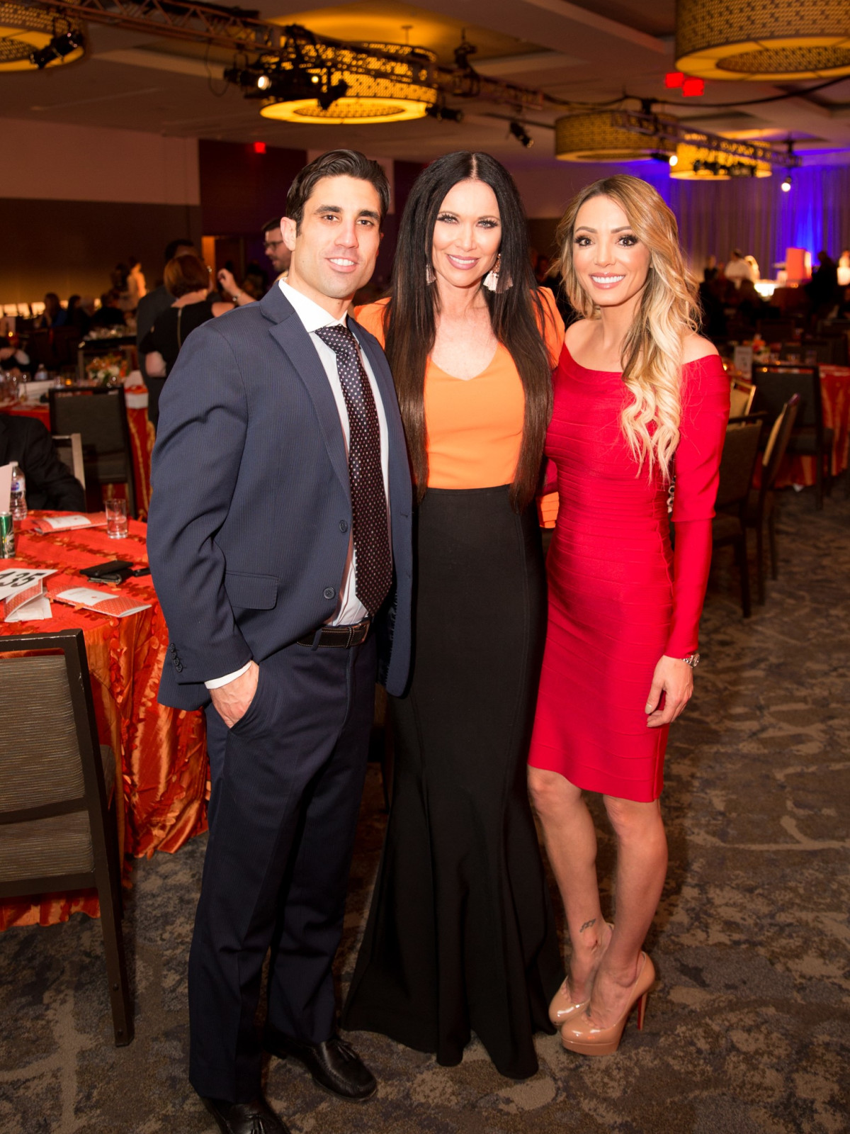 Bonne Sante 2018, Dr.  Demetri Arnaoutakis, LeeAnne Locken, Jennifer Gaydos-Hartman