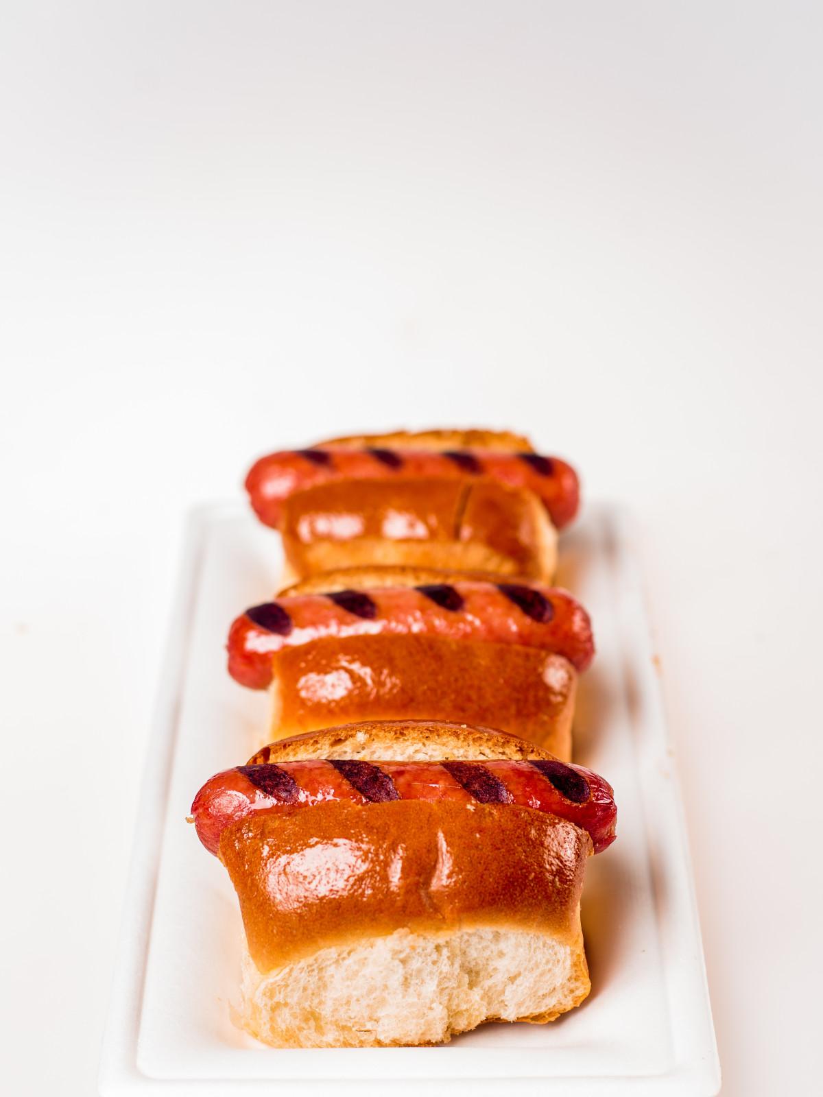 Astros Hot Dog Sliders