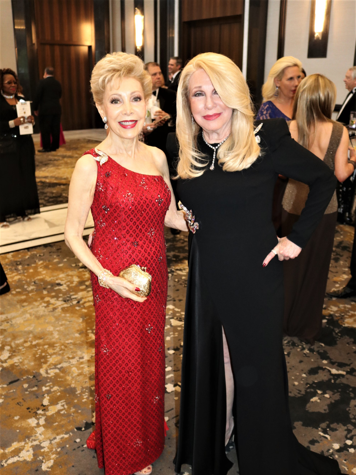 Margaret Alkek Williams and Sherri Zucker