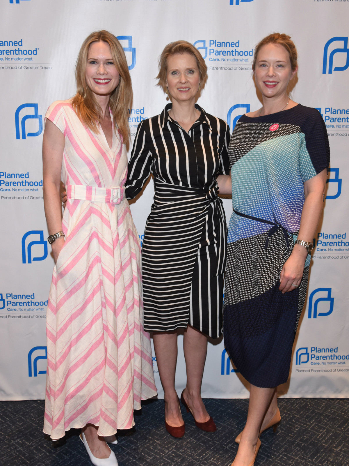 Stephanie March, Cynthia Nixon, Charlotte March
