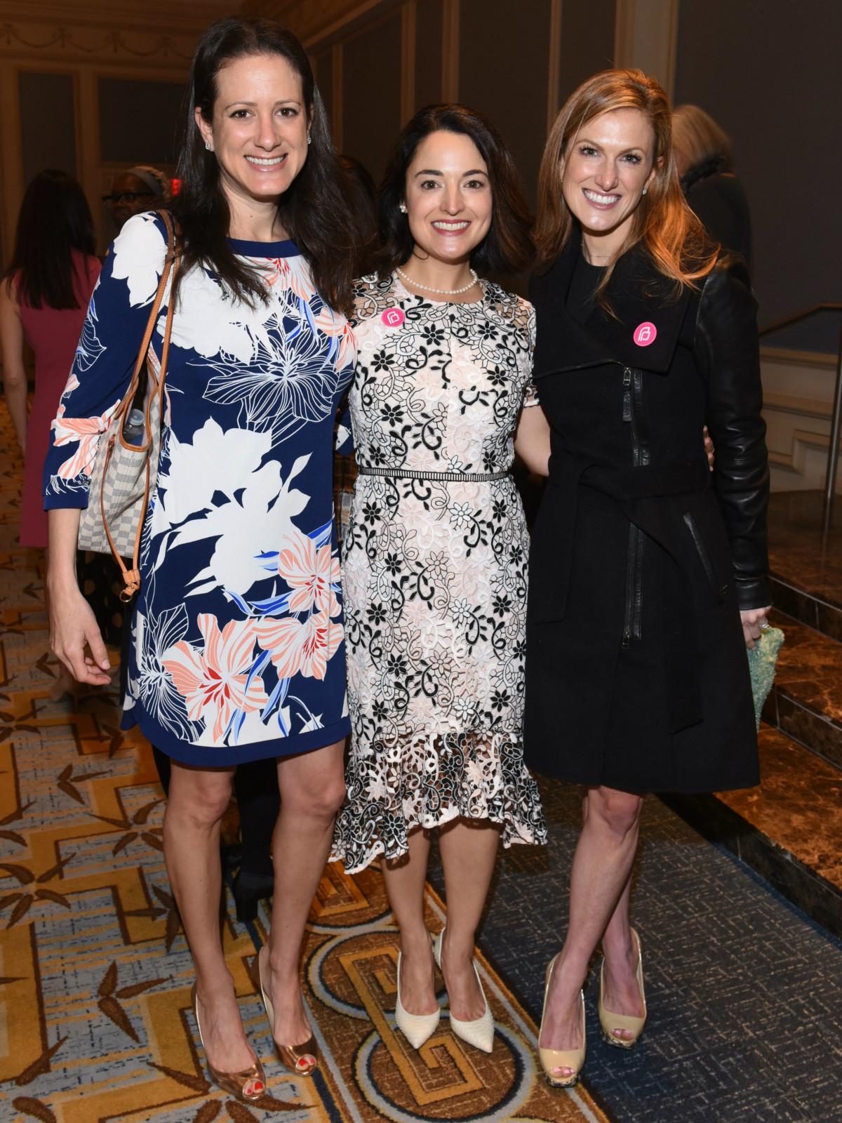 Meredith Wallace, Margaret Hirsch, Victoria Cullum