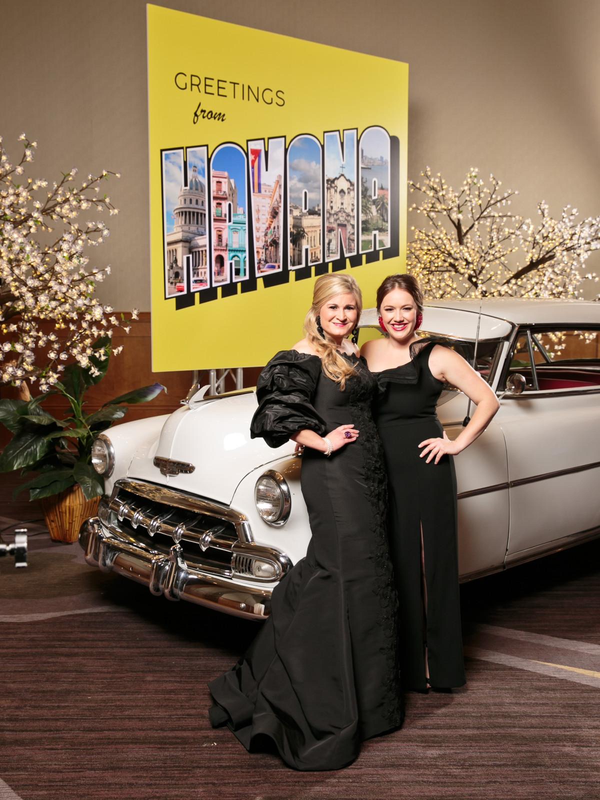 Meredith Allen and Cari Euart, Slipper Club Havana Nights 2018