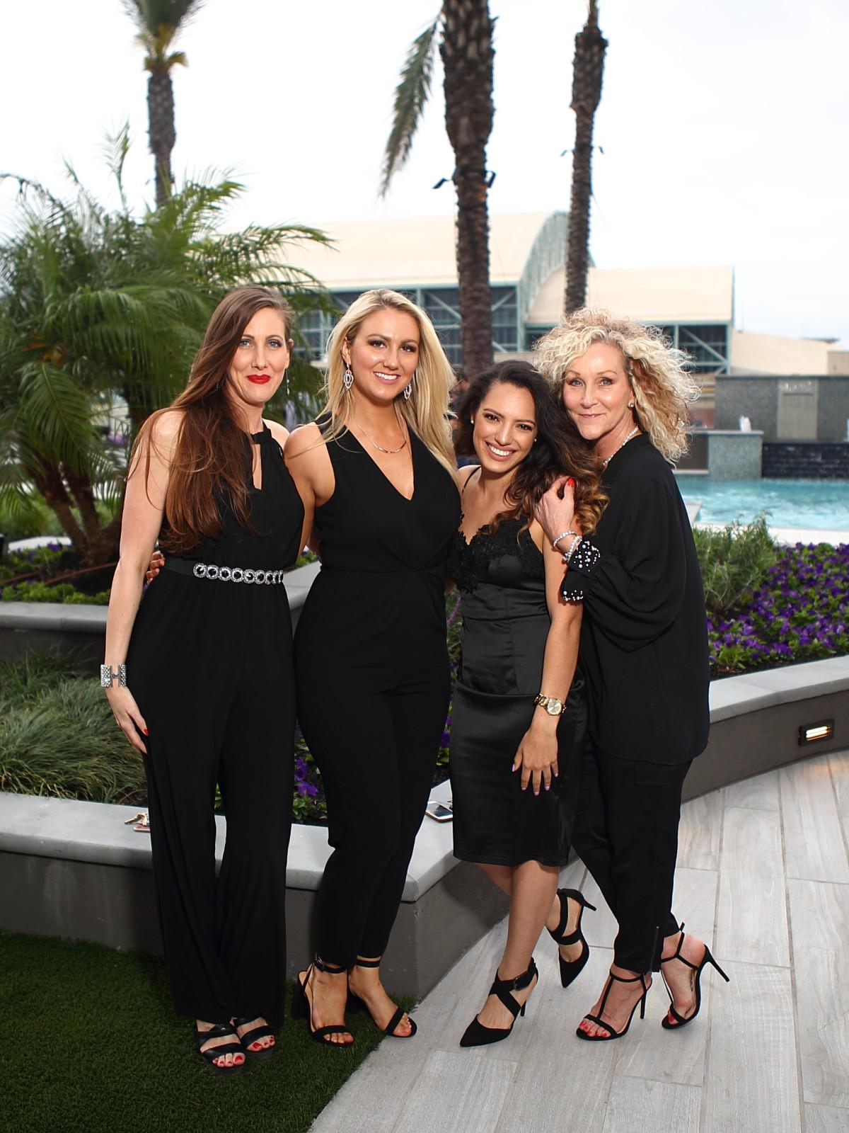 catalyst houston Brandy Vogel, Brittney White, Amber Nicole, and Dovie Jo Culver