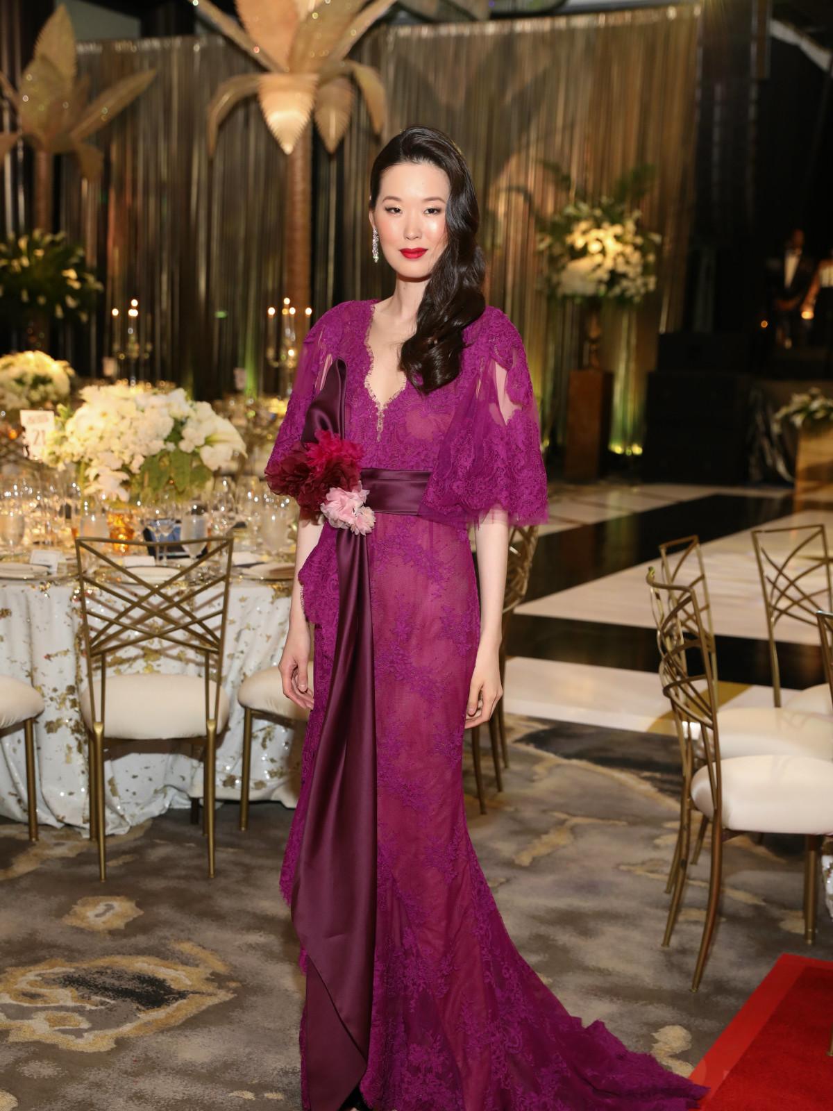 Opera Ball gowns Sophia Lee in Marchesa