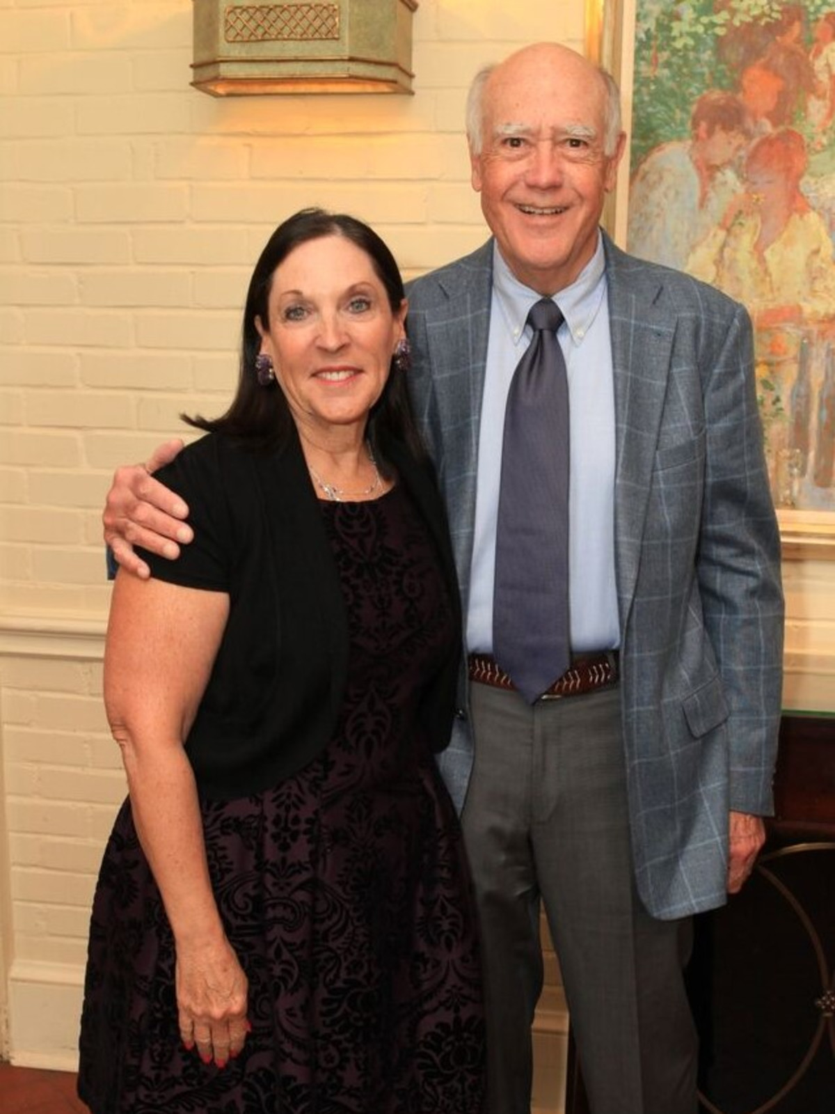 PCHPS luncheon 2018, Venise and Larry Stuart